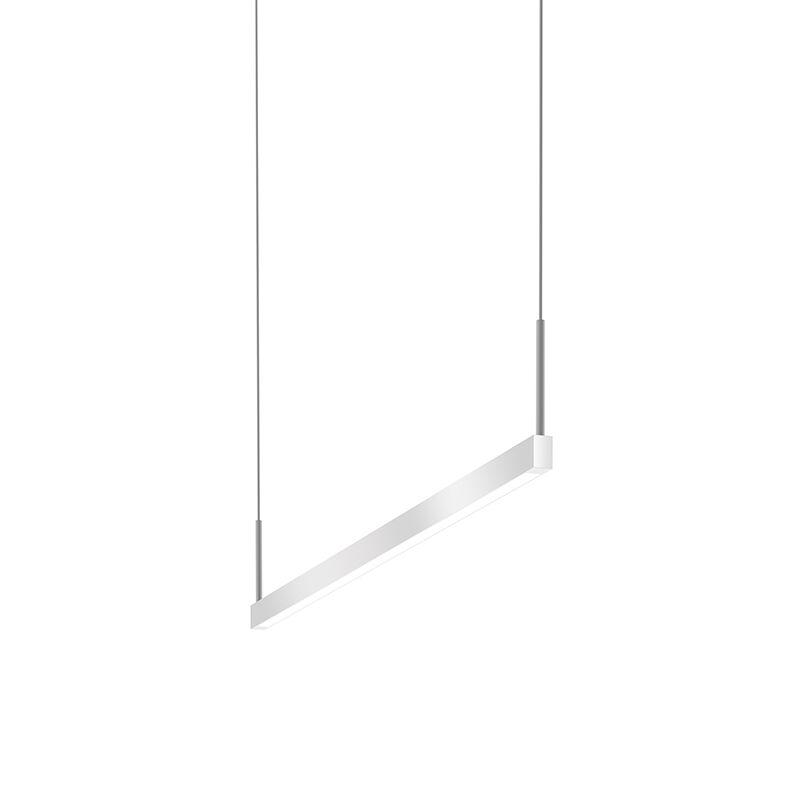 1-Light LED Kitchen Island Pendant Finish: Bright Satin Aluminum