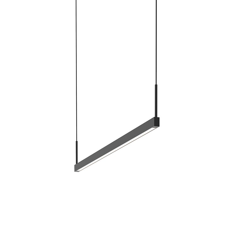 1-Light LED Kitchen Island Pendant Finish: Satin Black