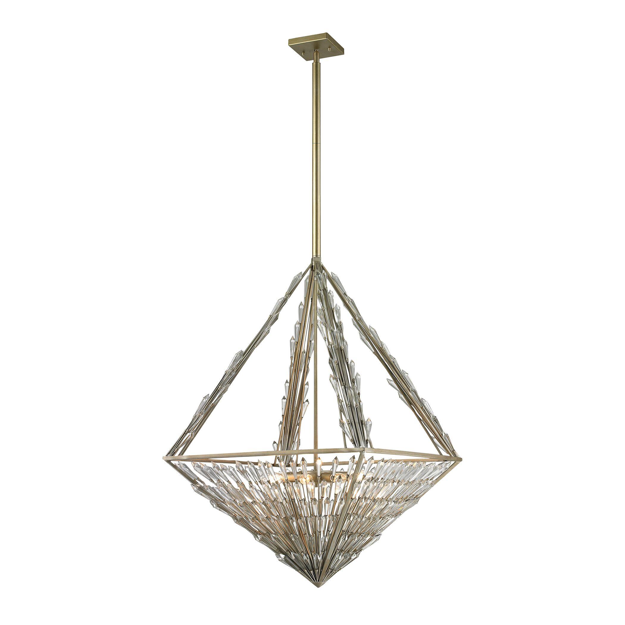 Gillian 8-Light Bowl Pendant