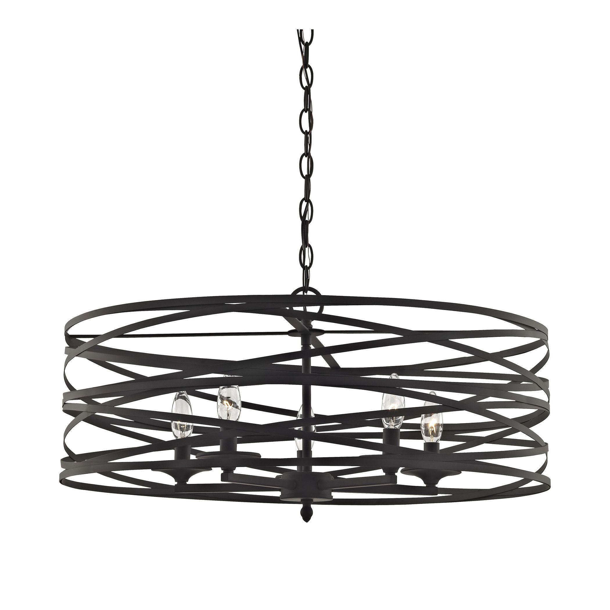 Bazemore 5-Light Drum Pendant