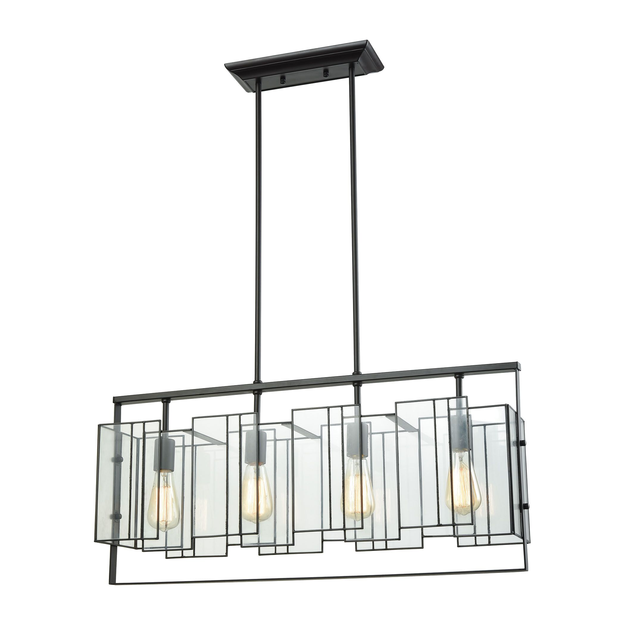 Blackston 4-Light Kitchen Island Pendant