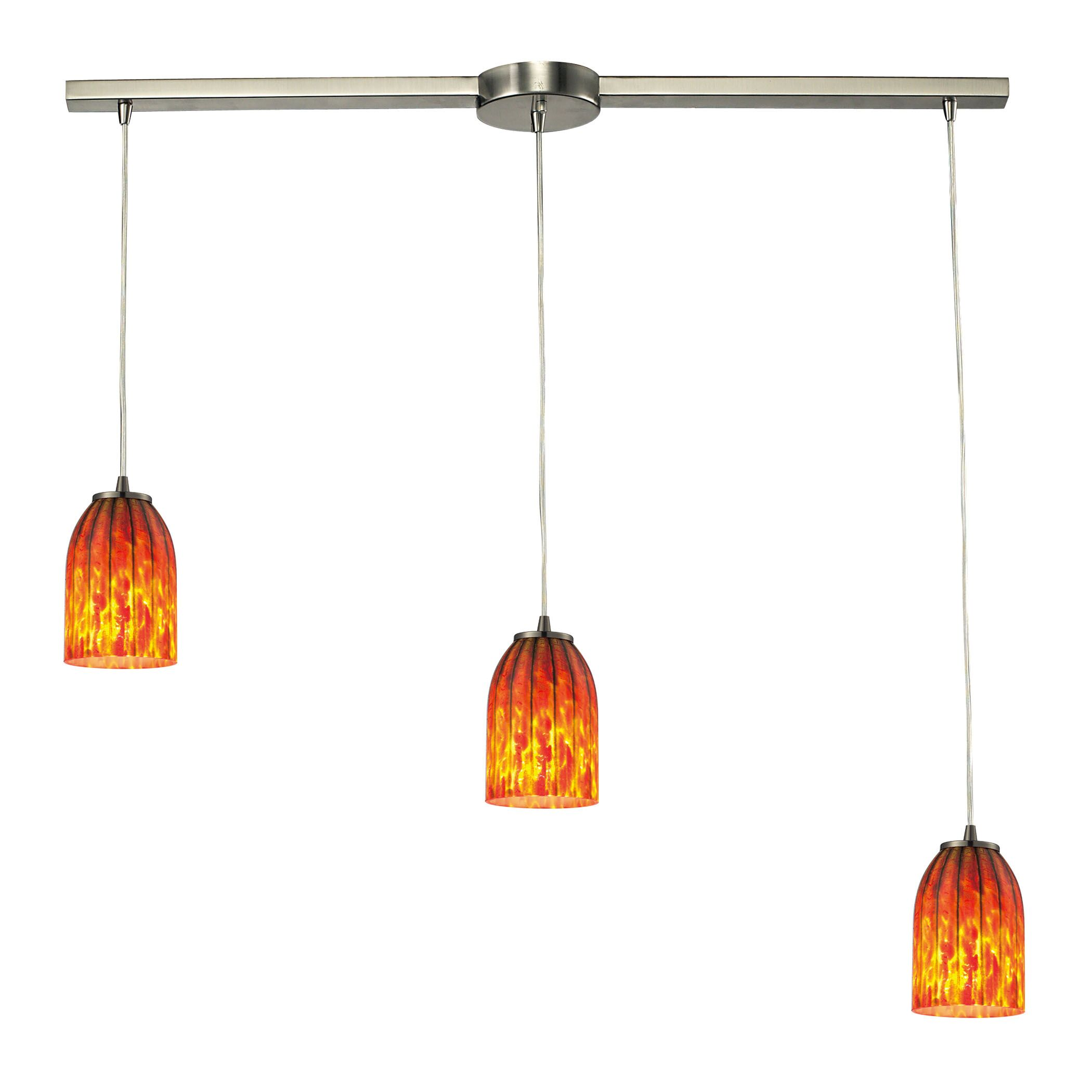 Rayne 3-Light Cluster Pendant