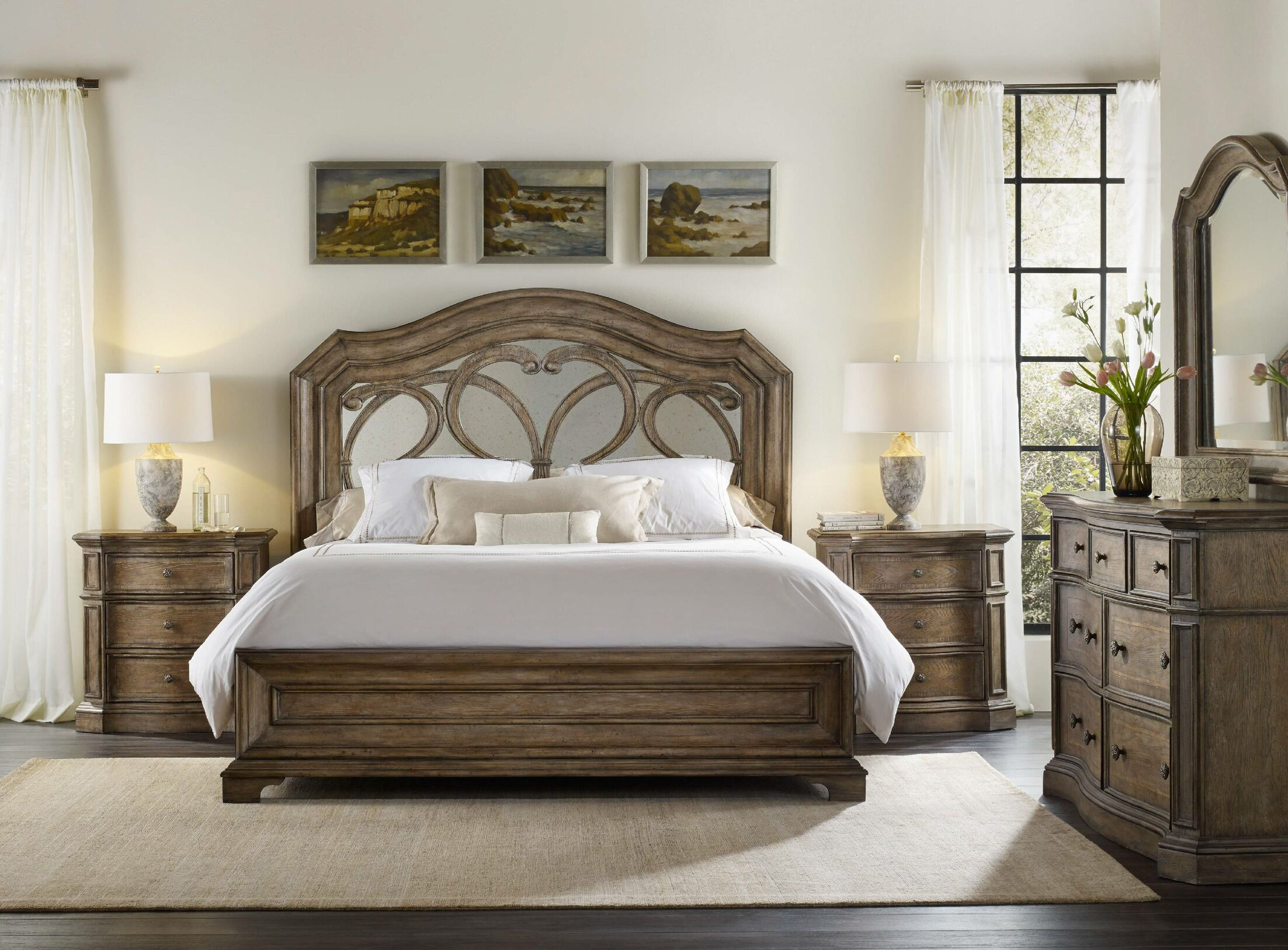 Solana Panel Configurable Bedroom Set