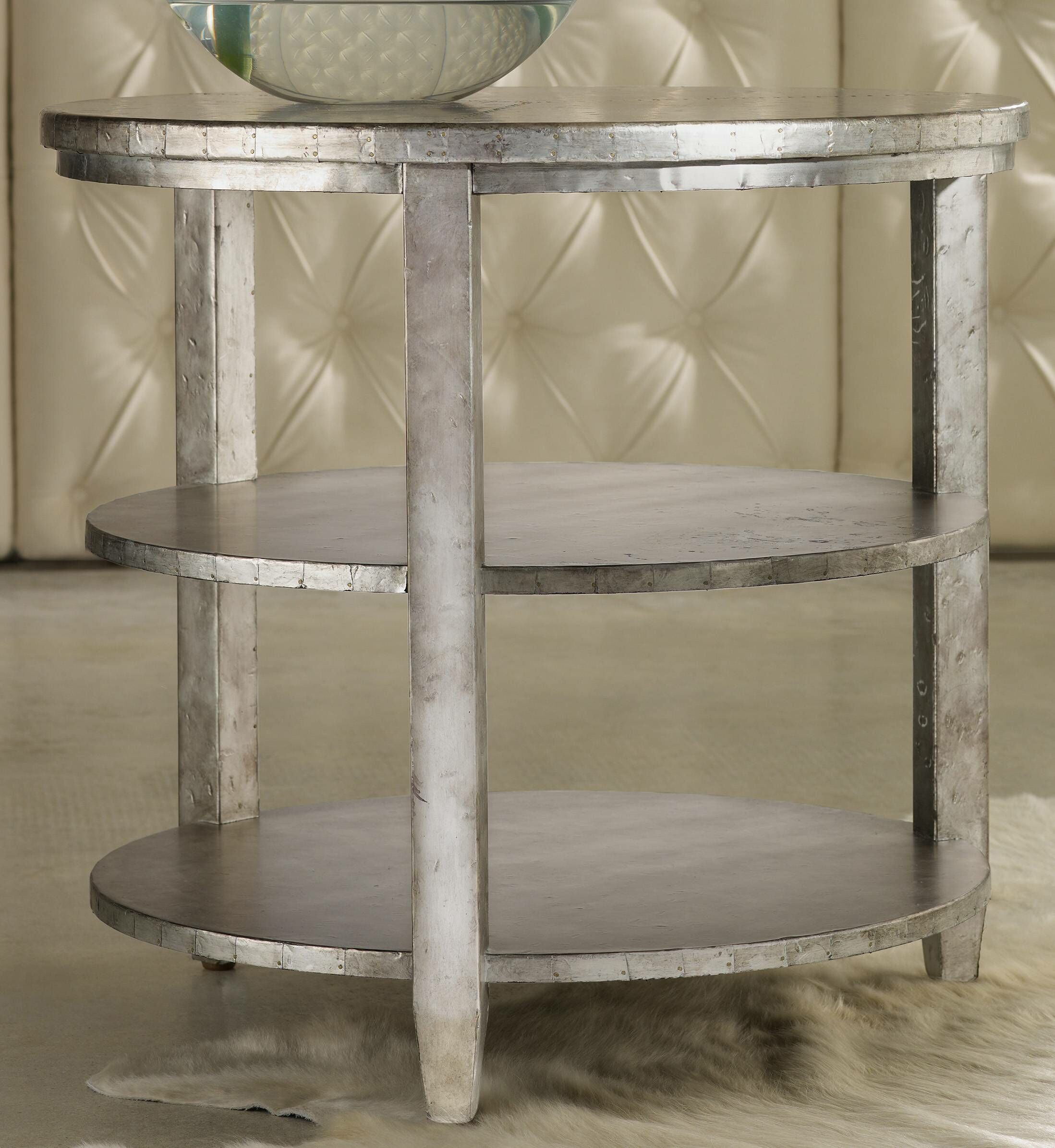 Melange Maverick End Table