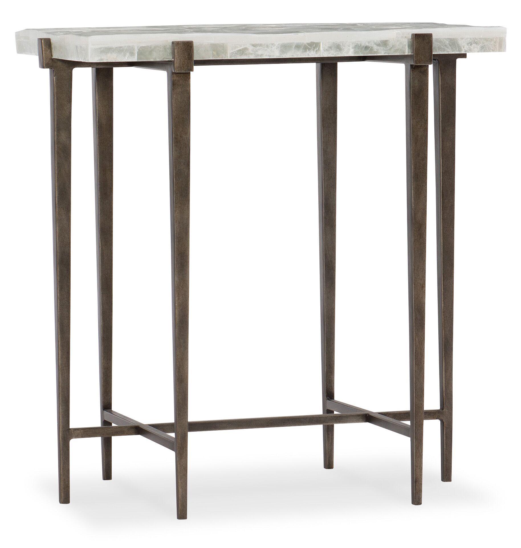 Melange Bellis End Table
