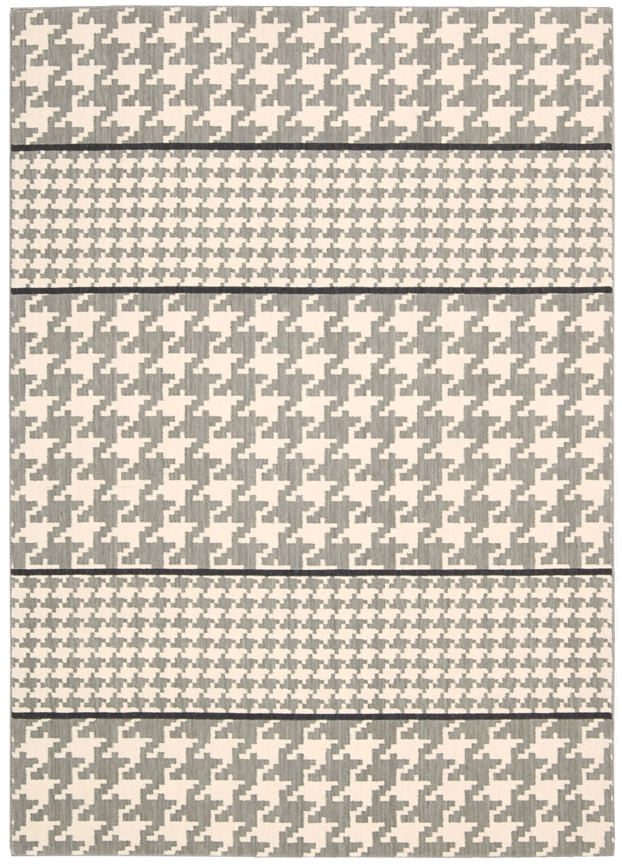 Griffith Ivory/Gray Area Rug Rug Size: Runner 2'3