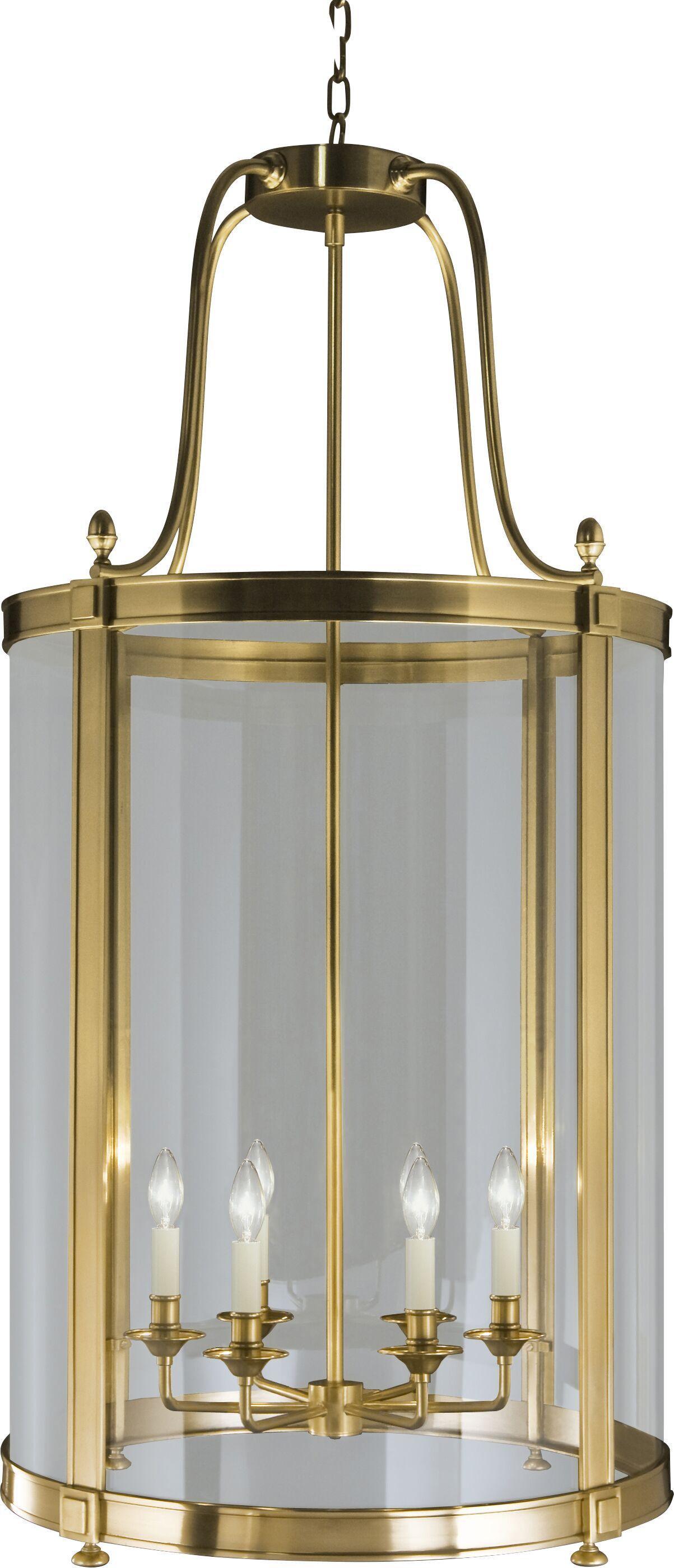 Blake 6-Light Pendant Finish: Antique Brass