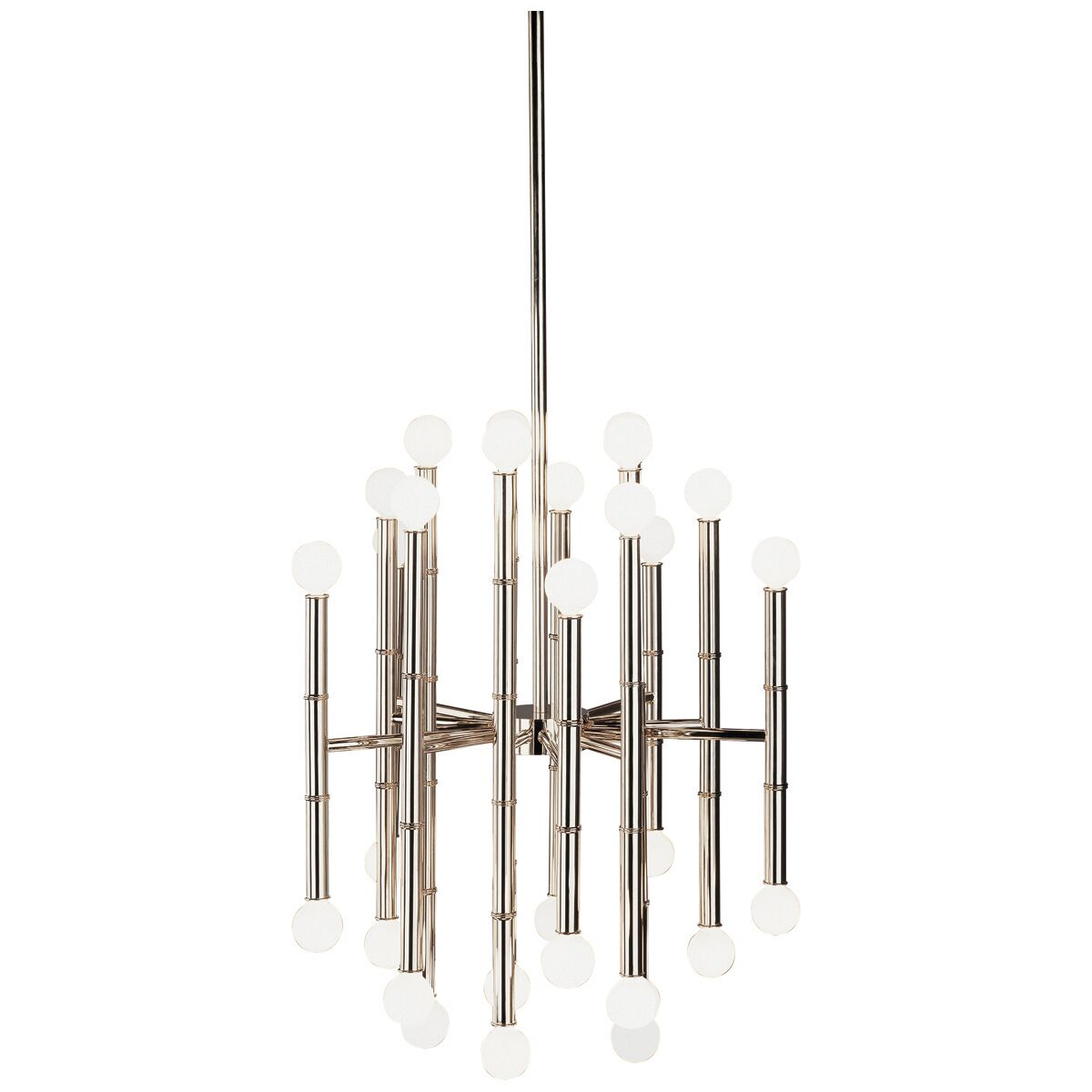 Jonathan Adler Meurice 30-Light Chandelier Finish: Polished Nickel