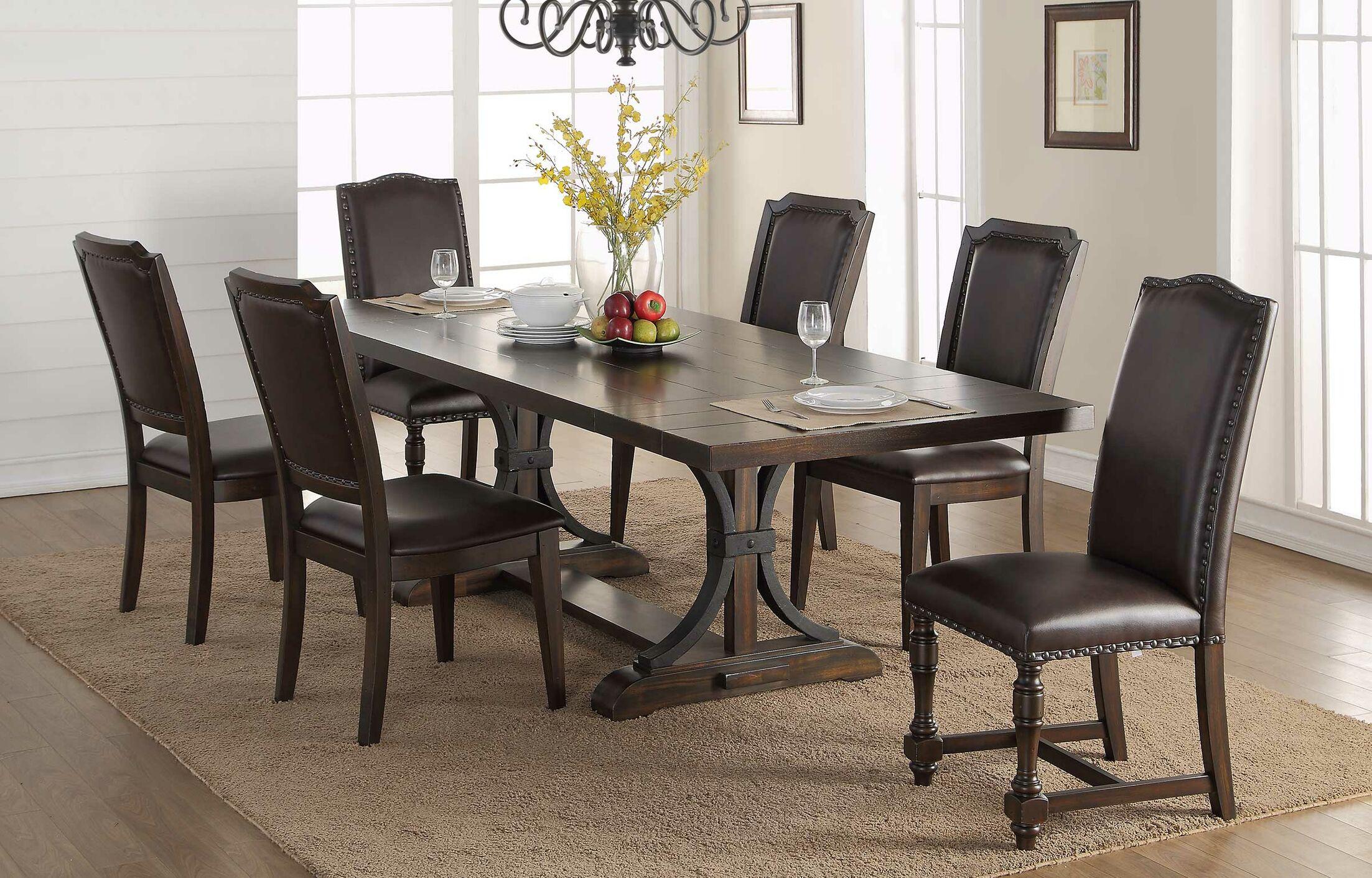 Keshia Upholstered Dining Chair (Set of 2)