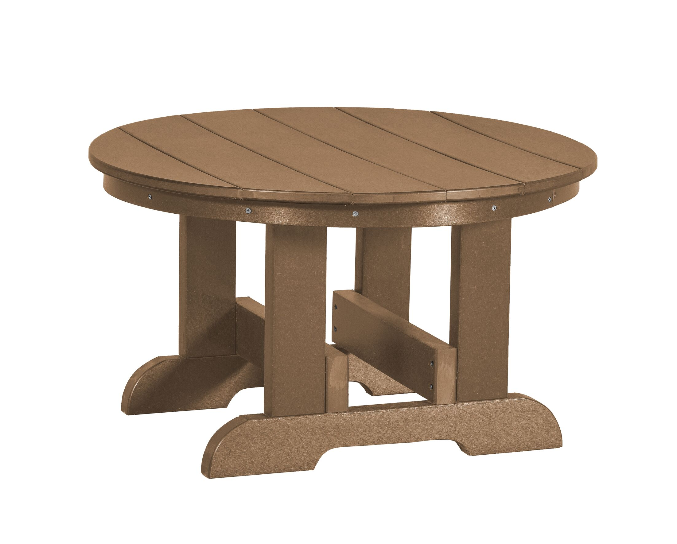 Patricia Conversation Table Color: Weathered Wood