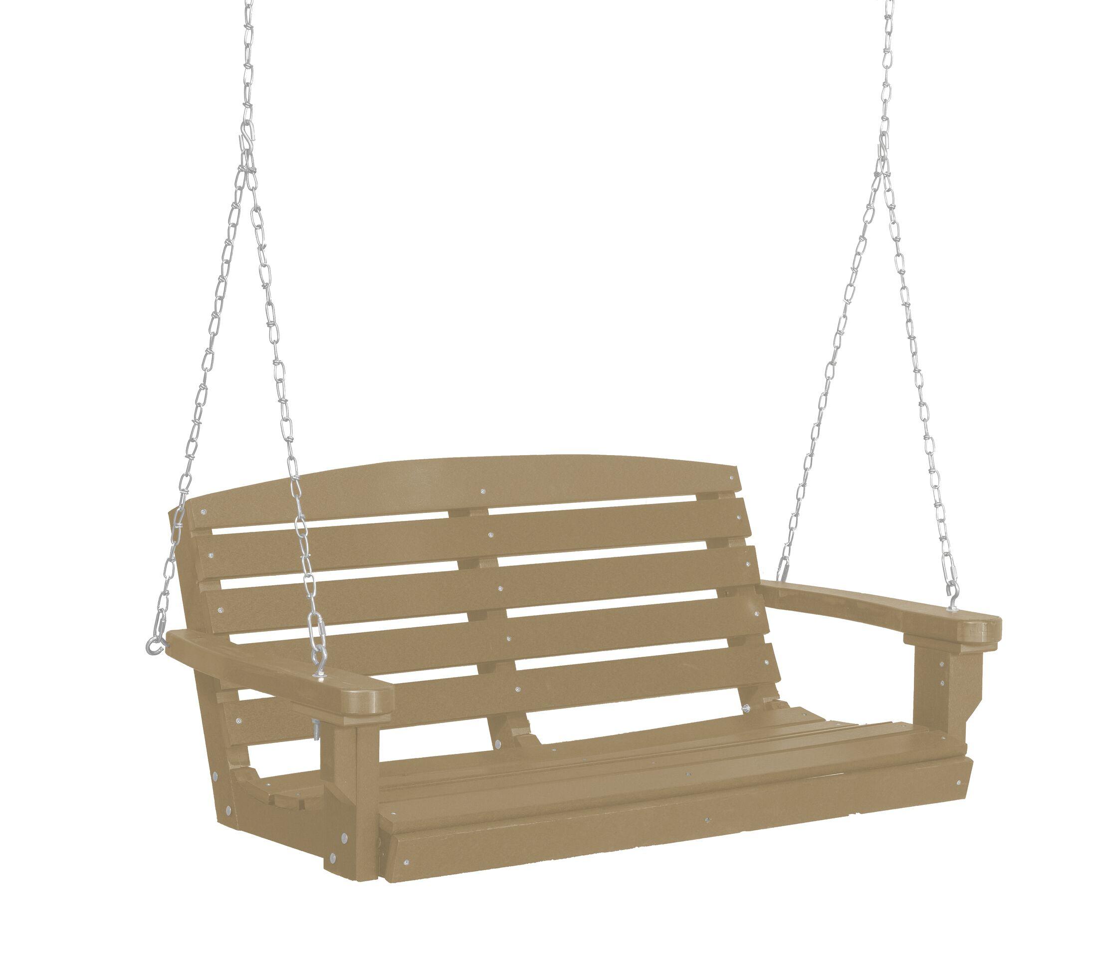 Sawyerville Porch Swing Finish: Weathered Wood