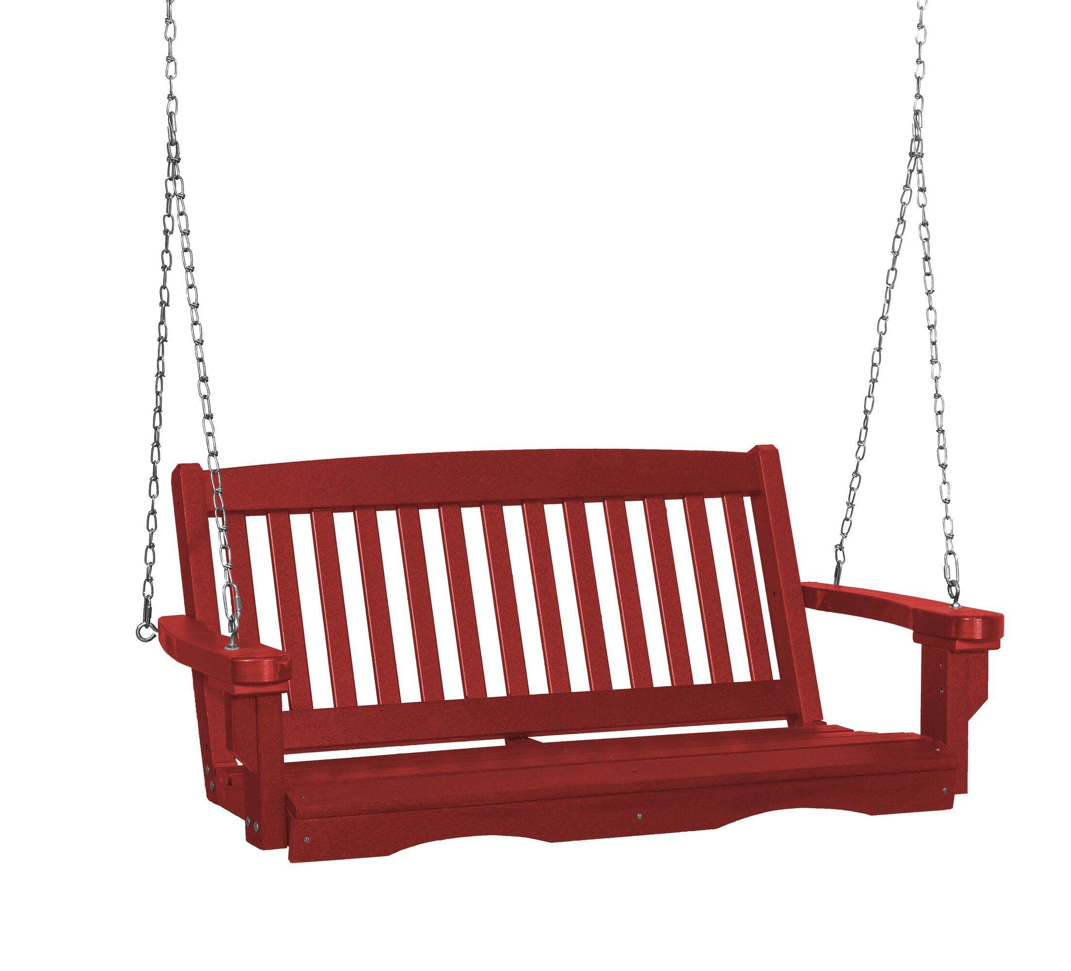 Classic Mission Porch Swing Finish: Cardinal Red