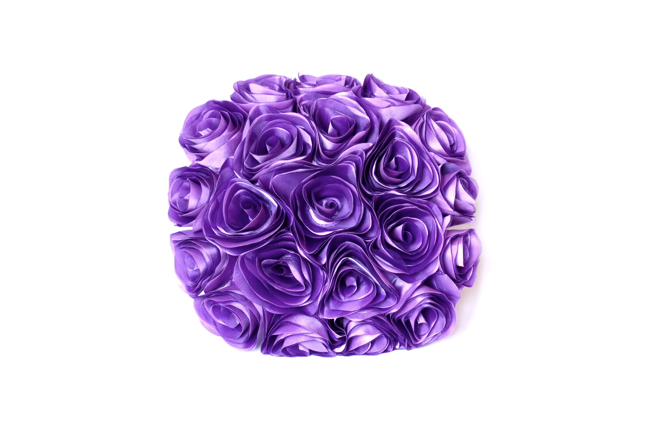 Spring Flower Throw Pillow Color: Purple