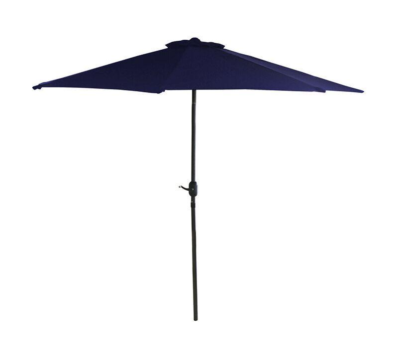 Bauer 7.5' Market Umbrella Color: Navy Blue