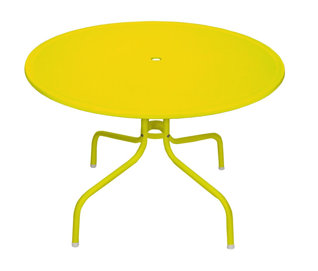 Clapen Dining Table Finish: Yellow