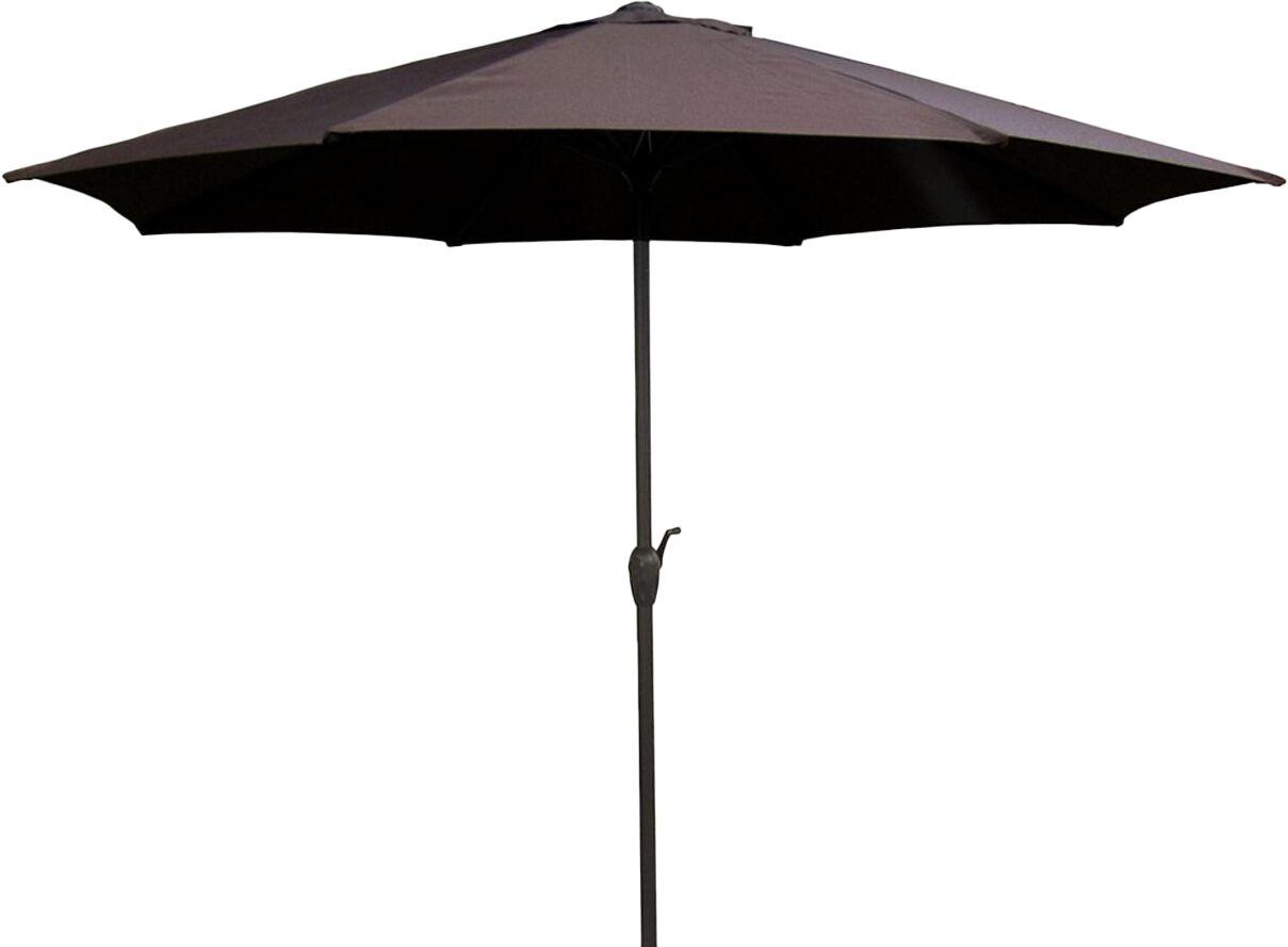 9' Market Umbrella Color: Brown/Black