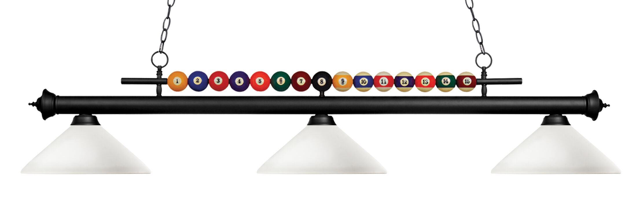 Chapa 3-Light Billiard Light