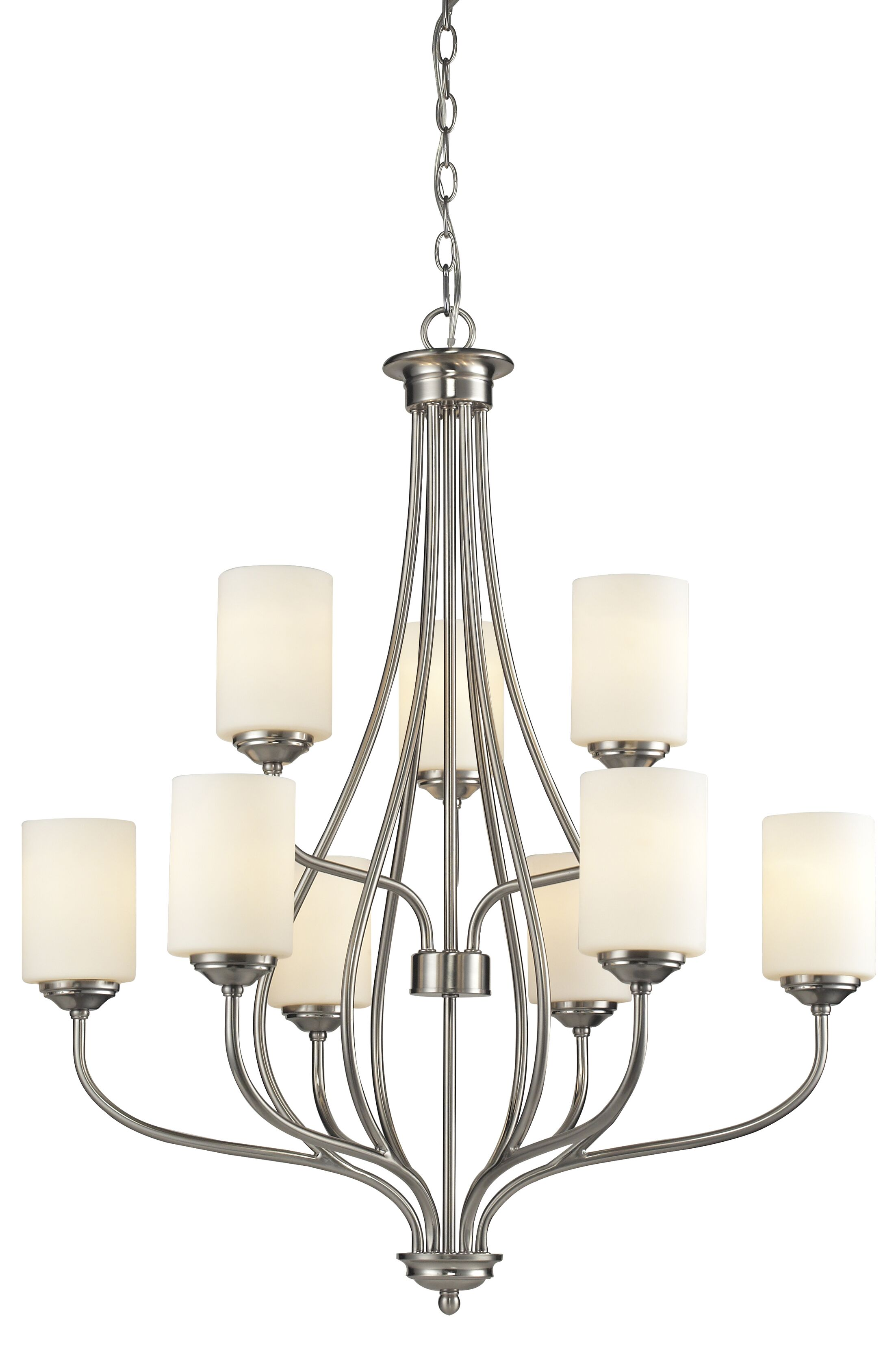 Weatherly 9-Light Shaded Chandelier
