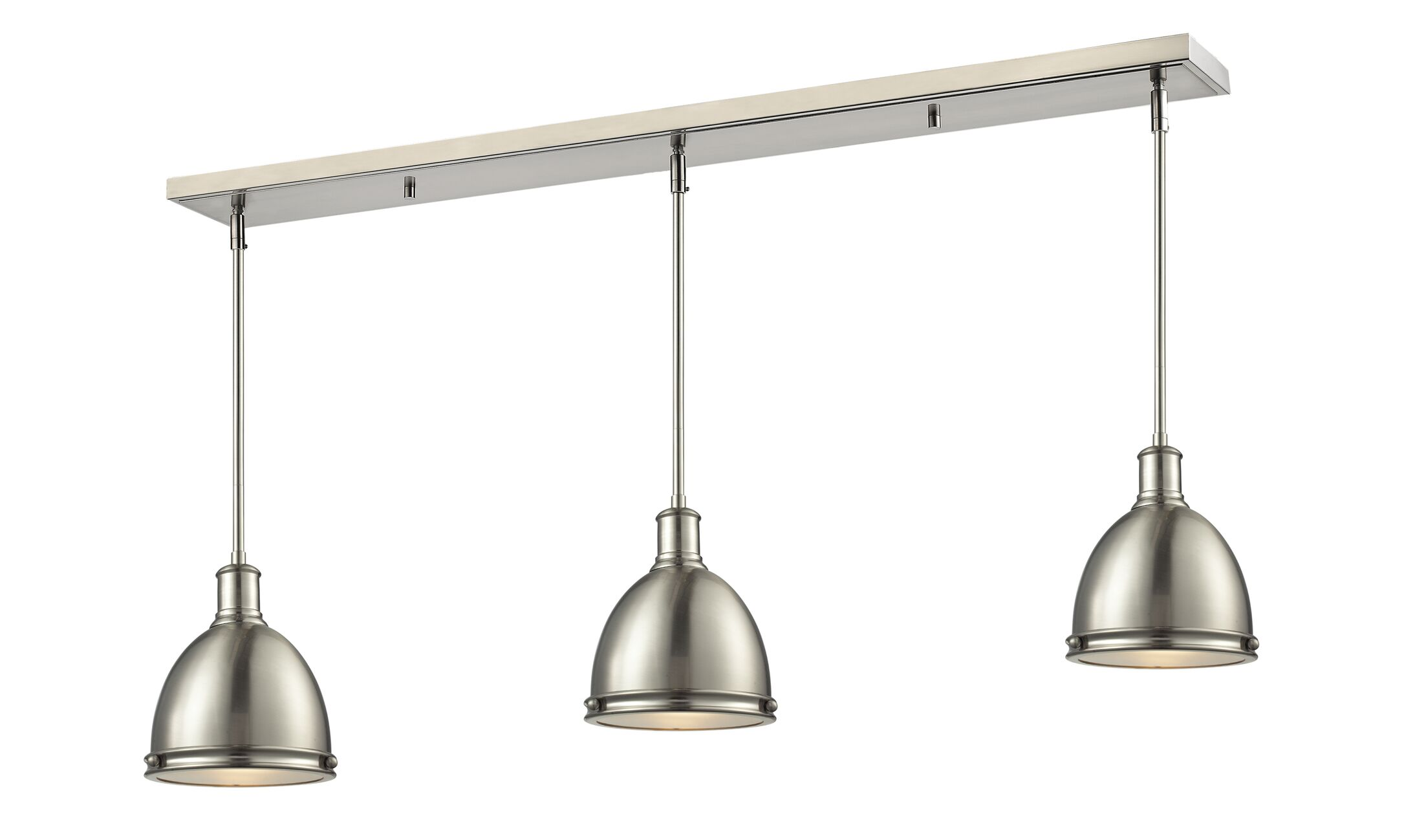 Marquise 3-Light Kitchen Island Pendant Size: 9.75