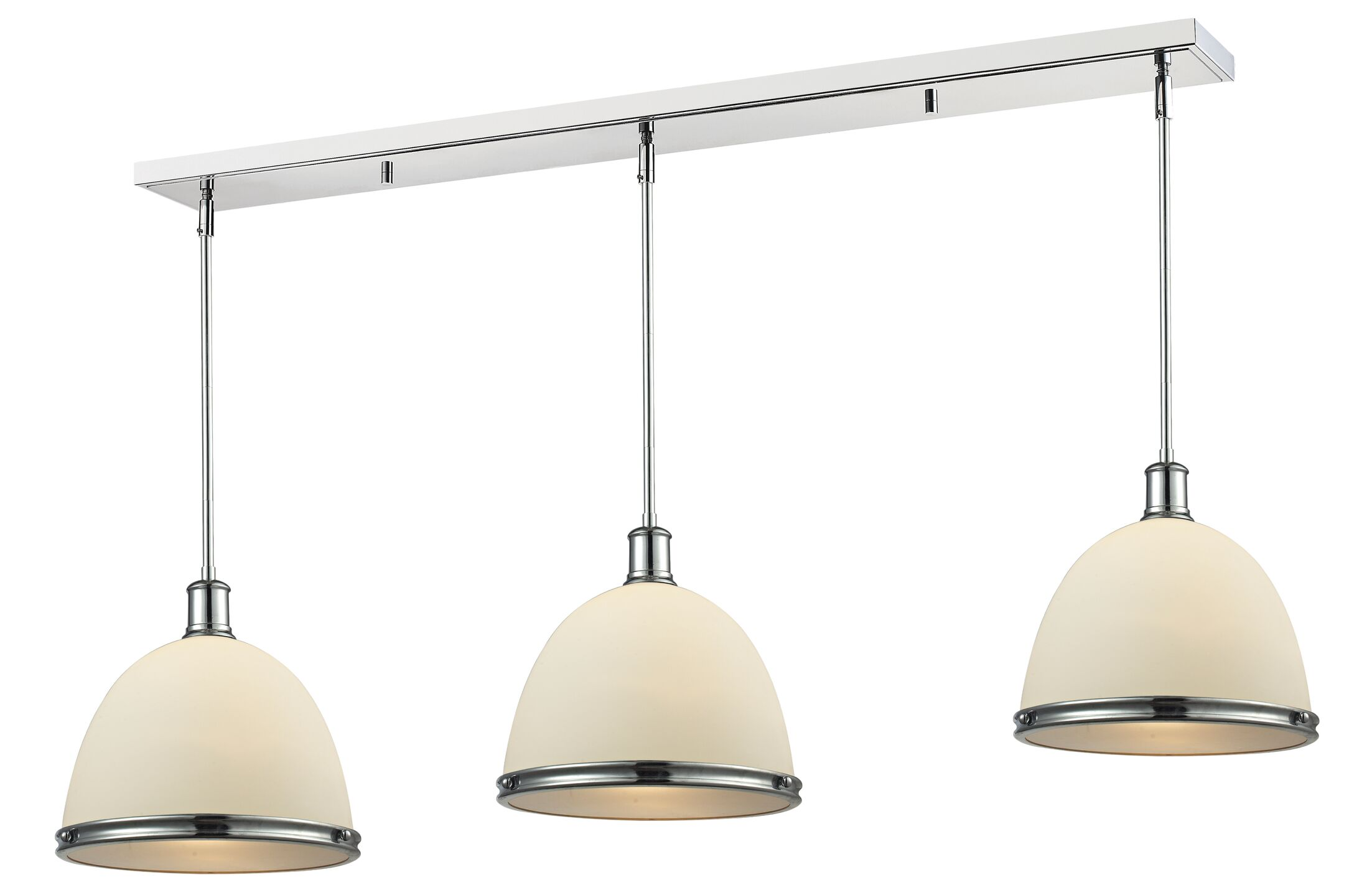 Marquise 3-Light Kitchen Island Pendant Size: 13