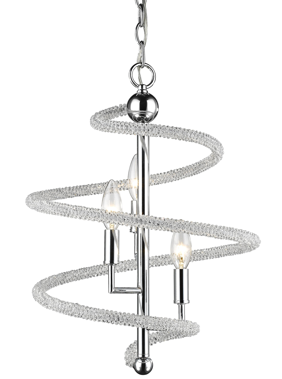 Iliomar 3-Light Geometric Chandelier