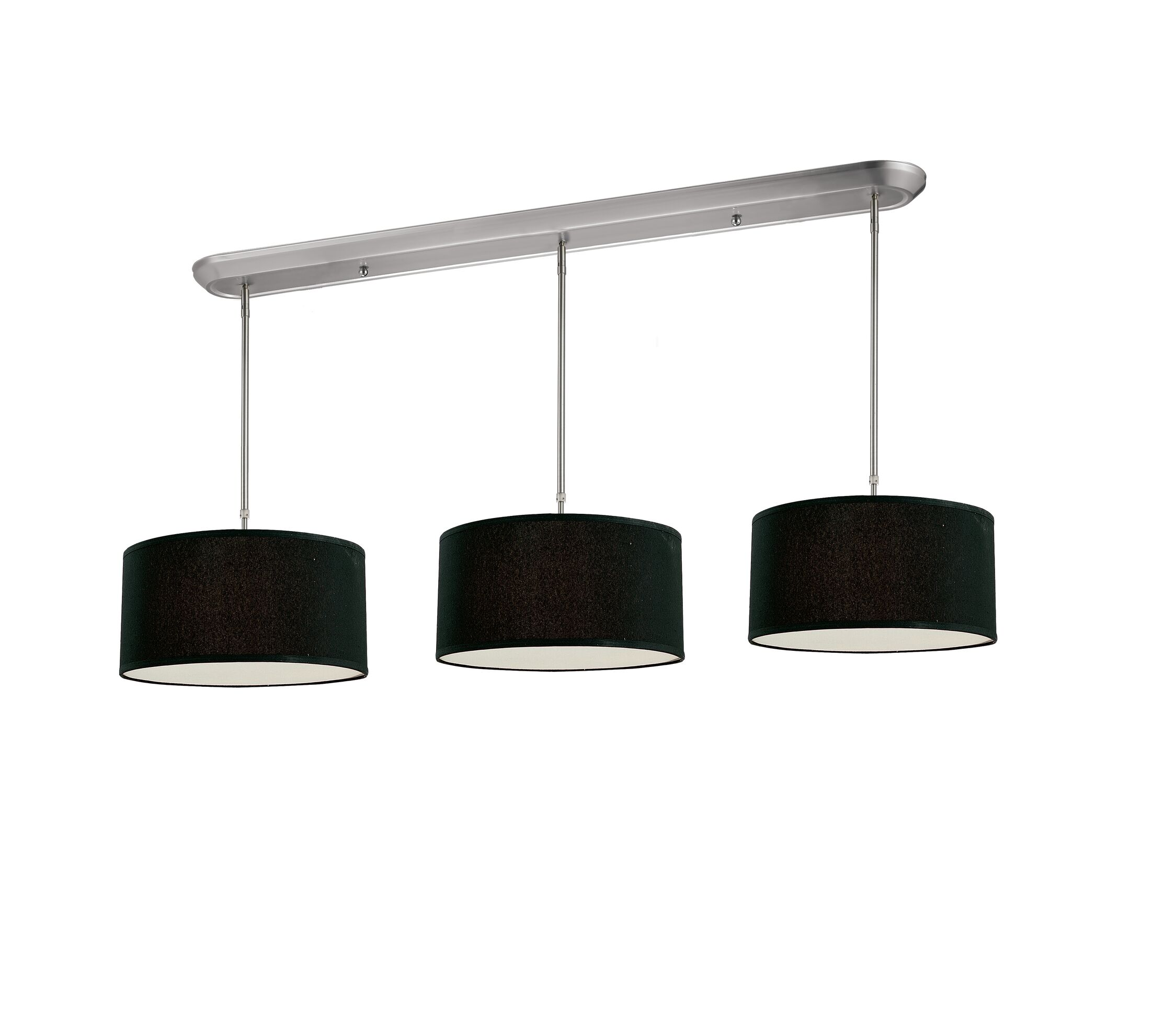 Boese 9-Light Pendant Shade Color: Black