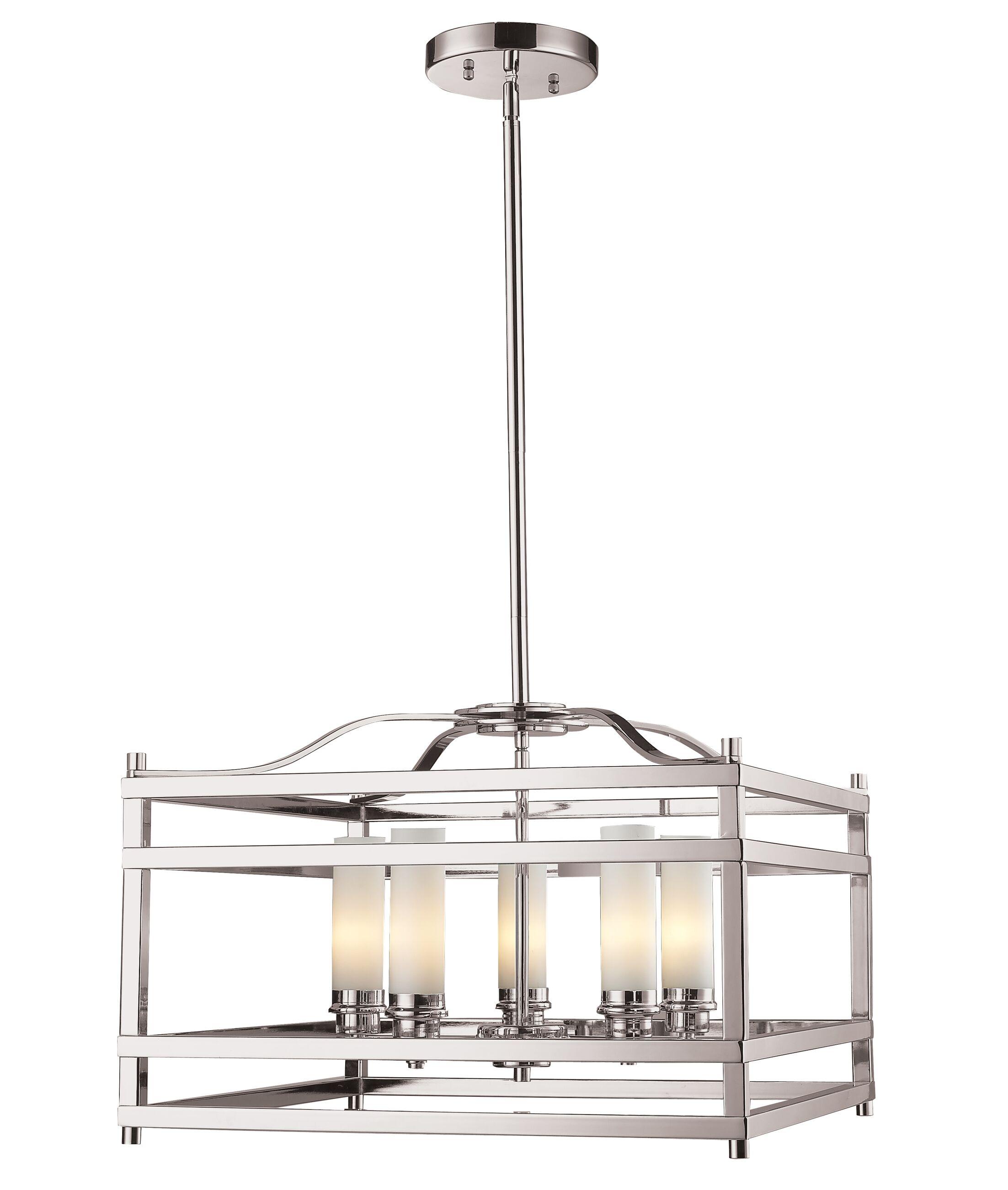 Humiston 5-Light Foyer Pendant
