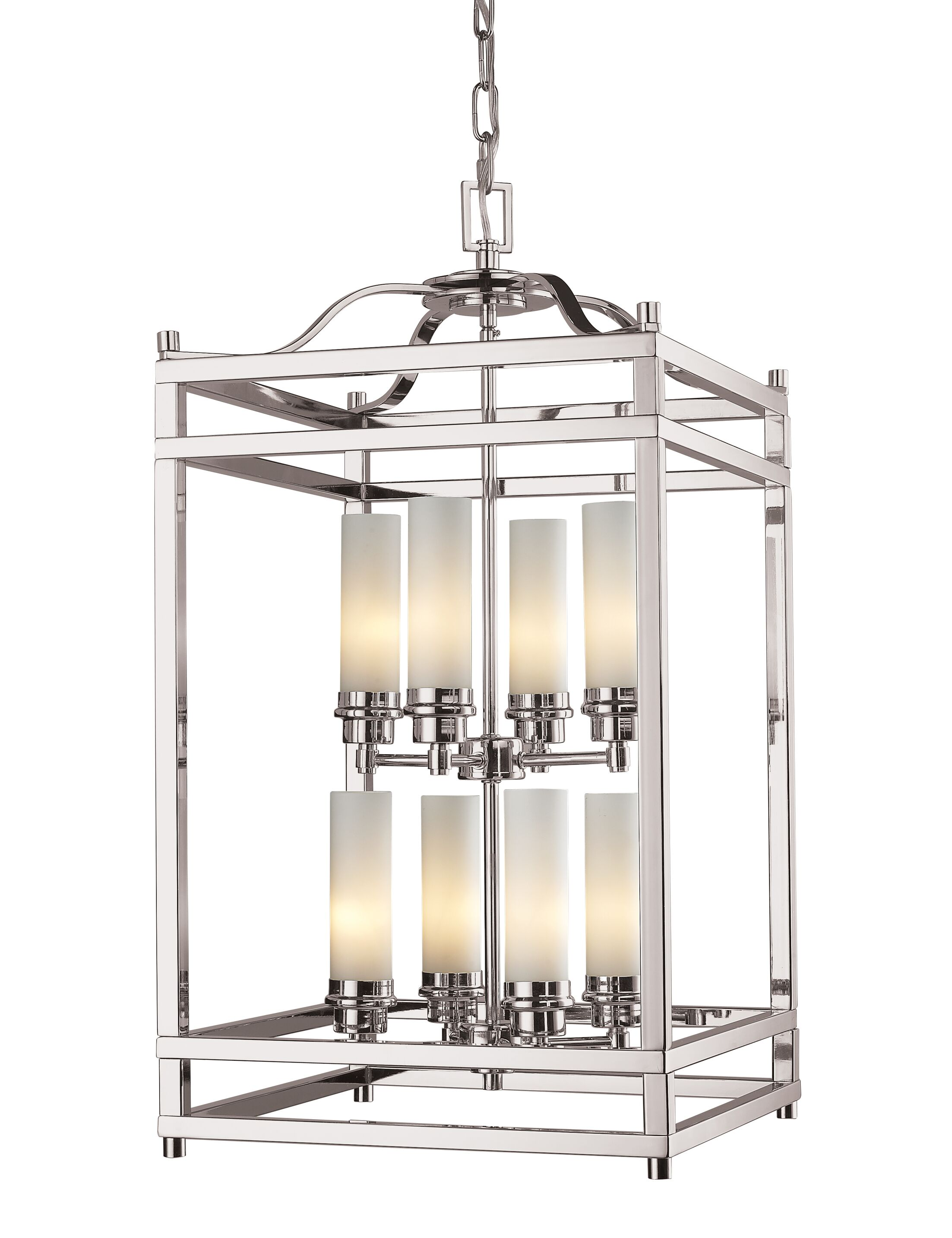 Humiston 8-Light Foyer Pendant