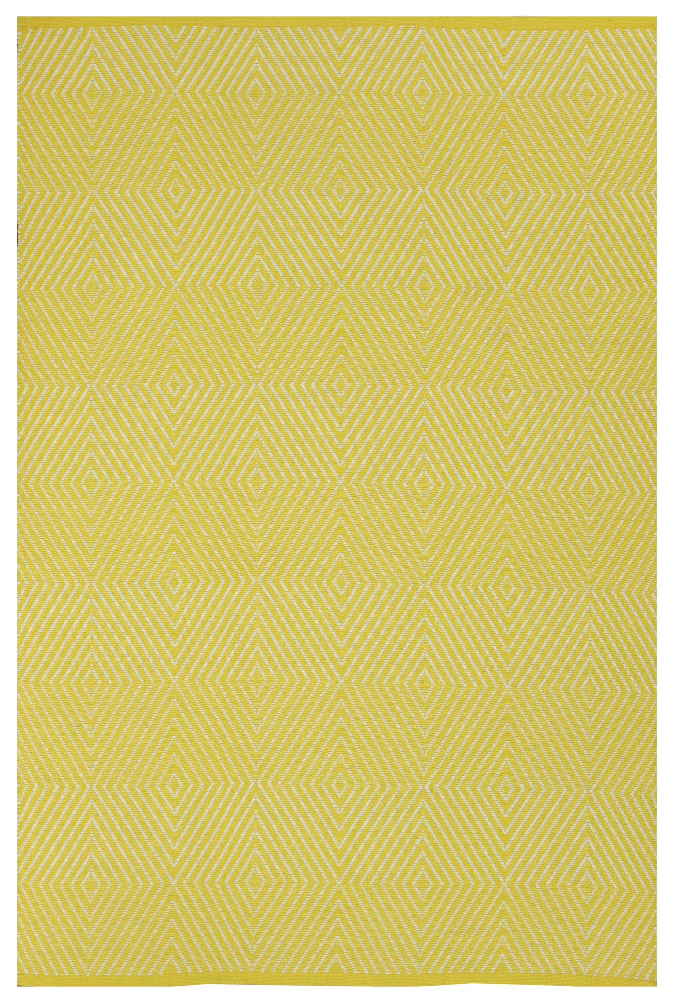 Zen Yellow Indoor/Outdoor Area Rug Rug Size: Rectangle 5' x 8'