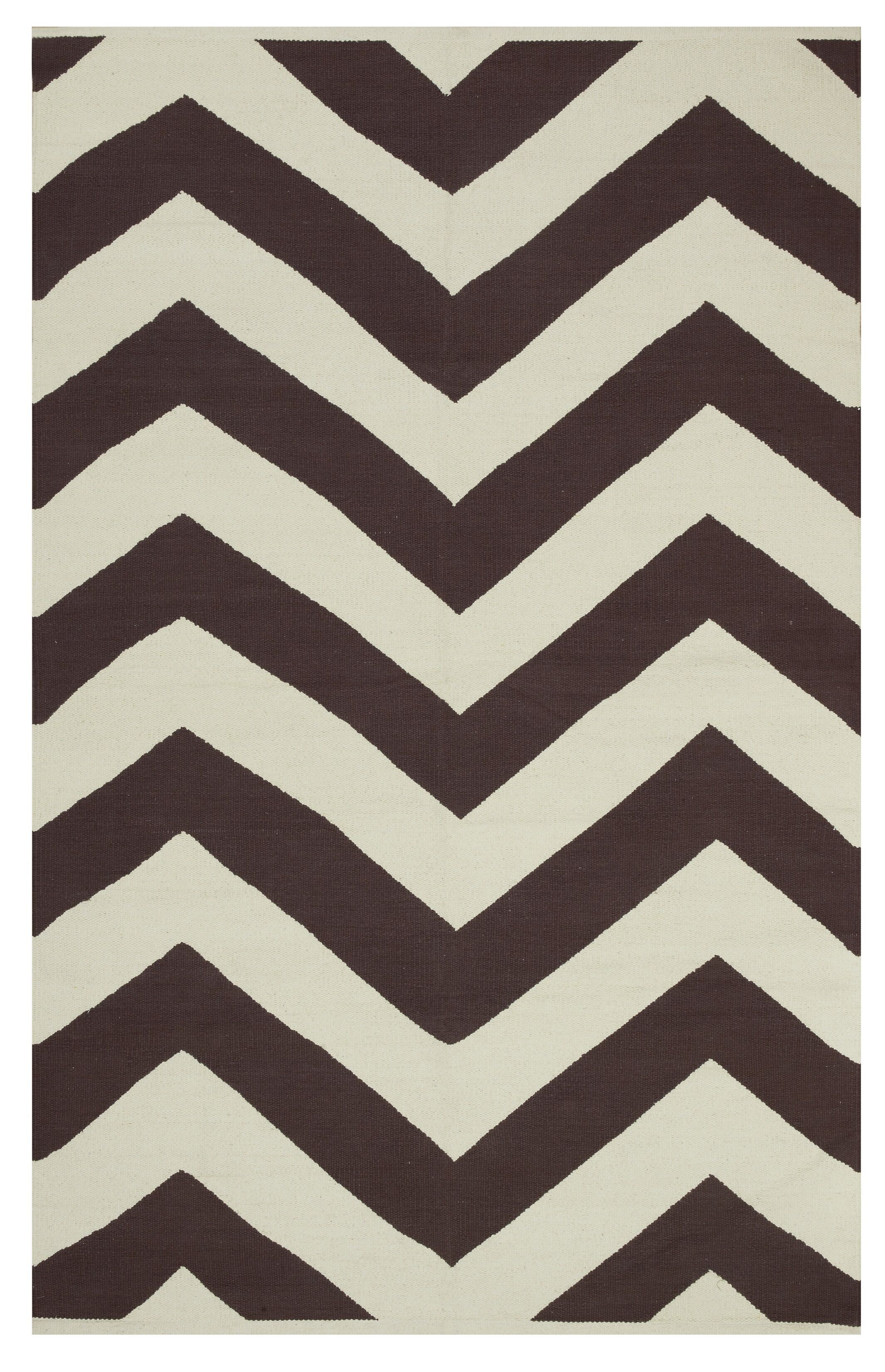 Metro Lexington Coffee/Beige Rug Rug Size: 6' x 9'