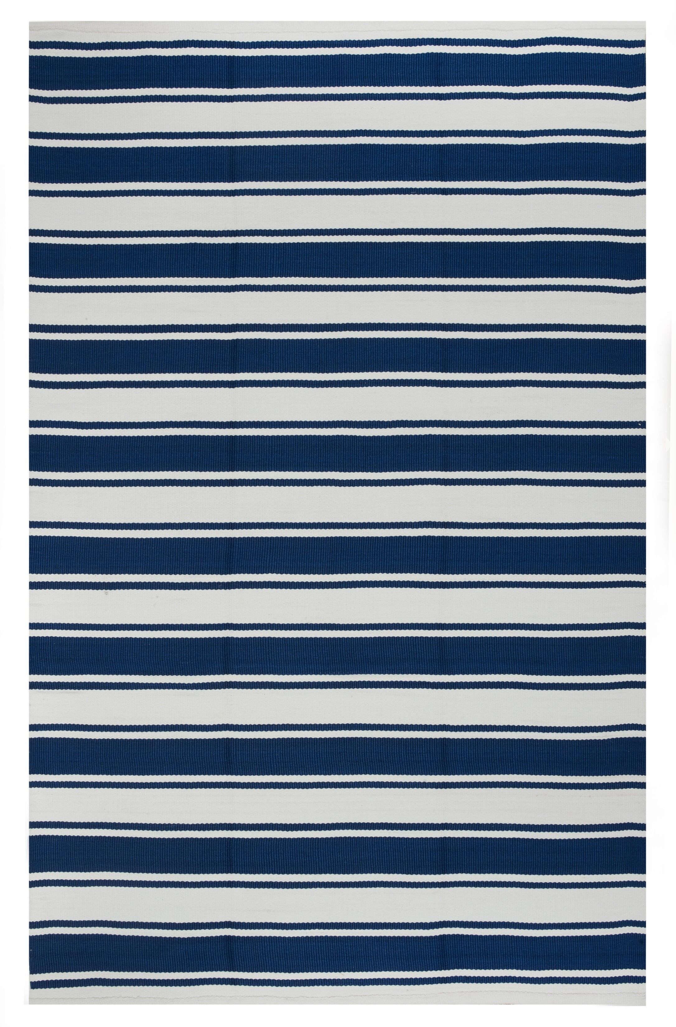 Zen Blue Indoor/Outdoor Area Rug Rug Size: 8' x 10'