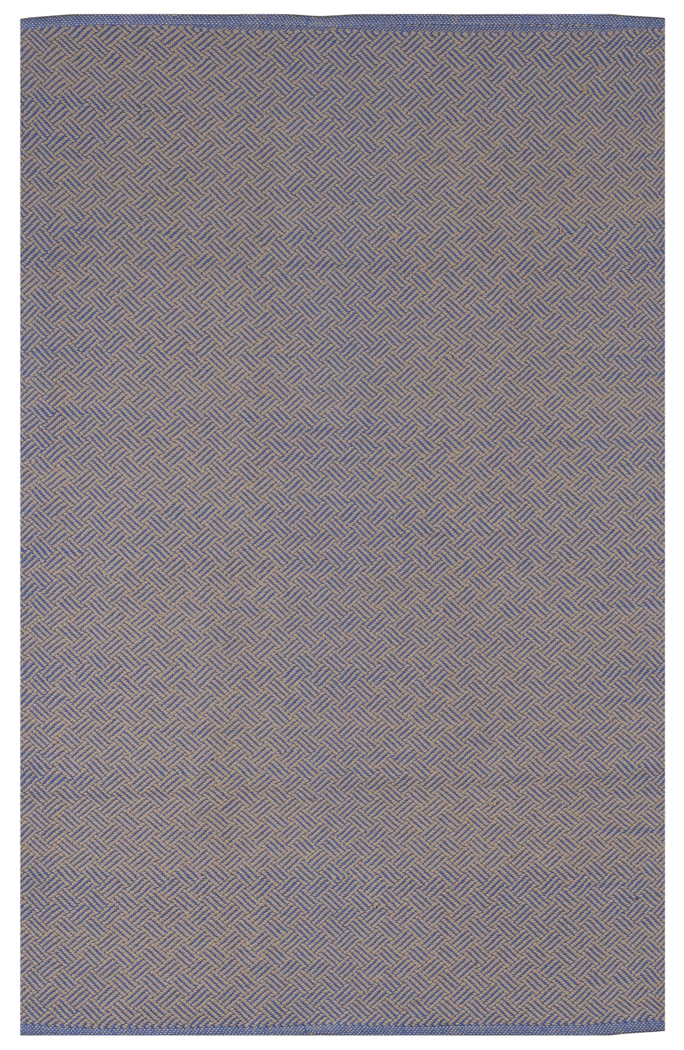 Zen Indoor Karma Cotton Gray Area Rug Rug Size: 4' x 6'