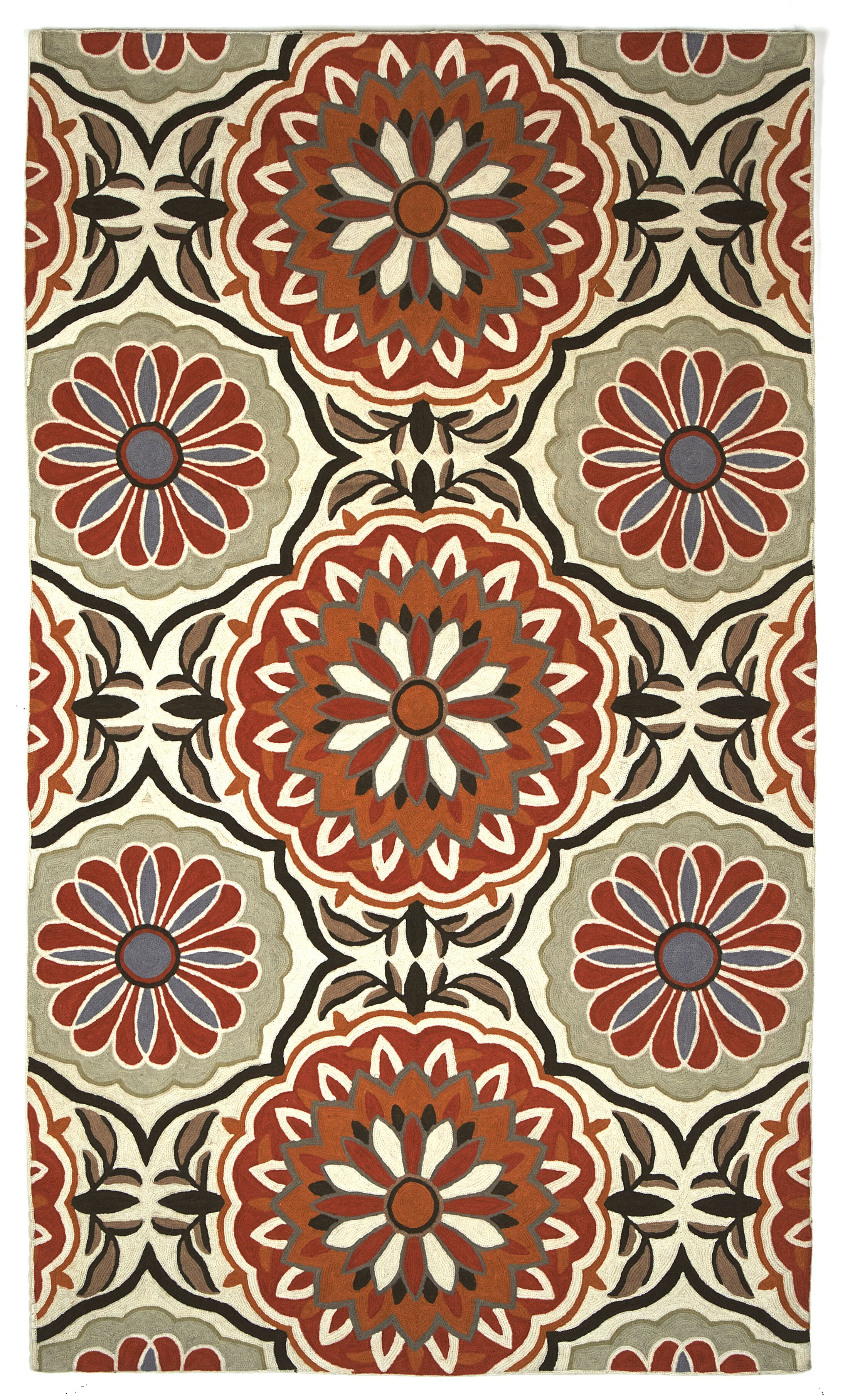 Heritage Mirabell Area Rug Rug Size: Rectangle 4' x 6'