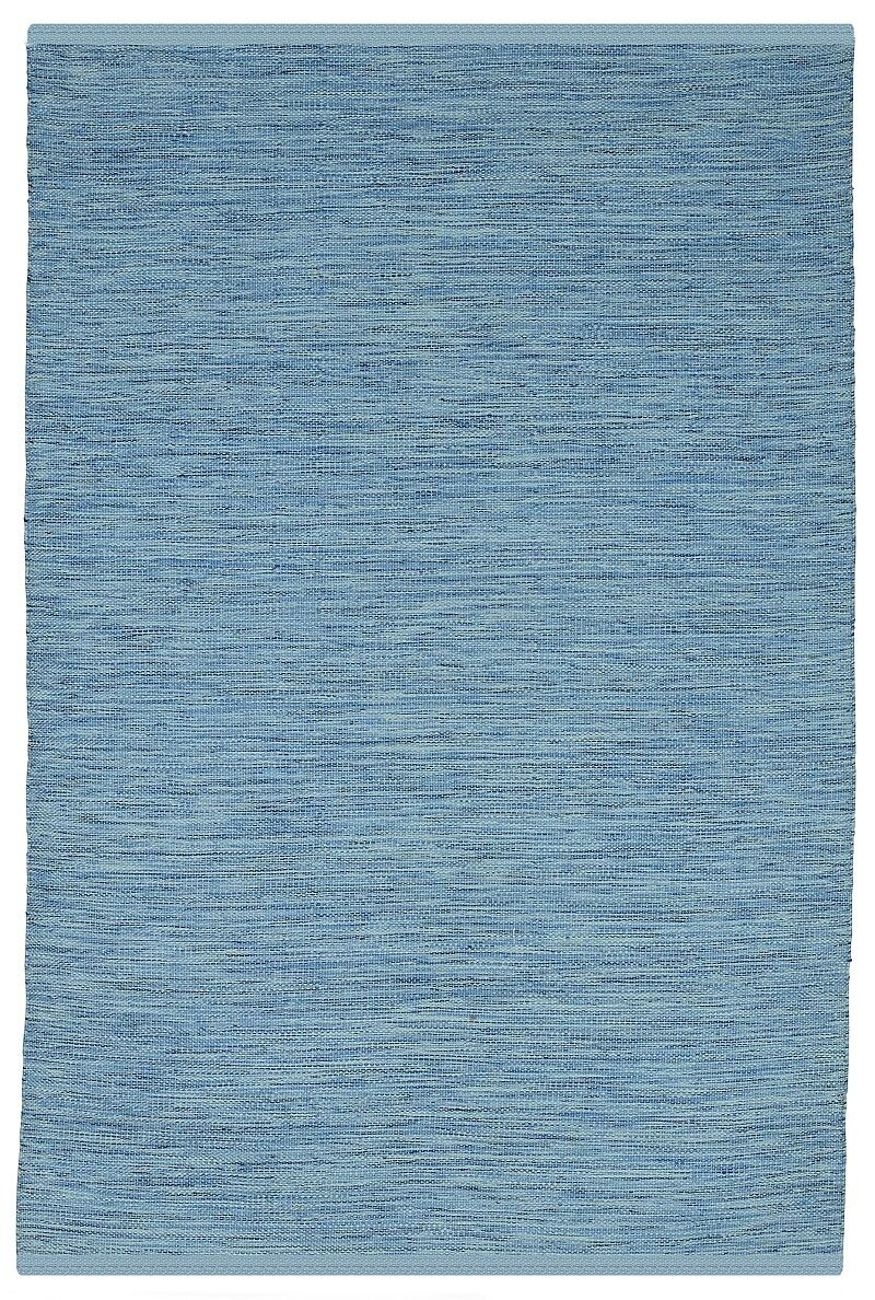 Estate Cancun Hand-Woven Blue Indoor/Outdoor Area Rug Rug Size: Runner 2'6