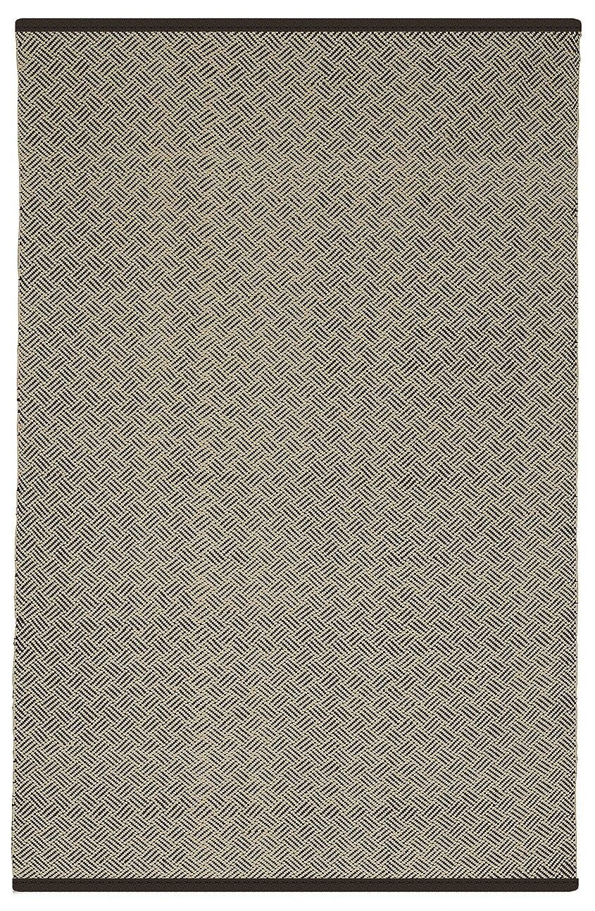 Estate Karma Hand-Woven Brown/Almond Indoor/Outdoor Area Rug Rug Size: Rectangle 5' x 8'