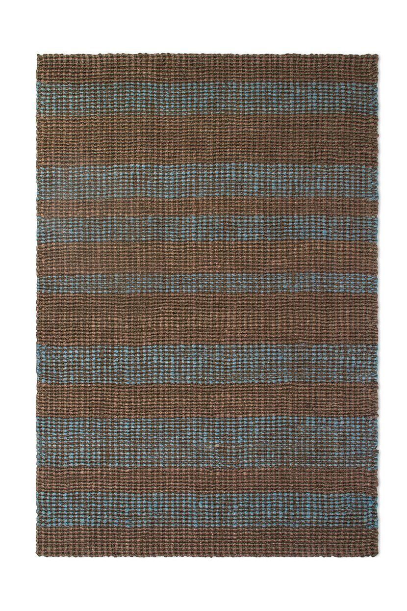 Delmer Hand-Woven Brown/Gray Indoor/Outdoor Area Rug Rug Size: Rectangle 4' x 6'