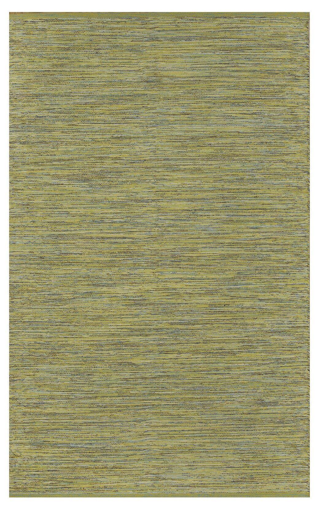 Zen Cancun Lemon/Apple Green Area Rug Rug Size: 8' x 10'