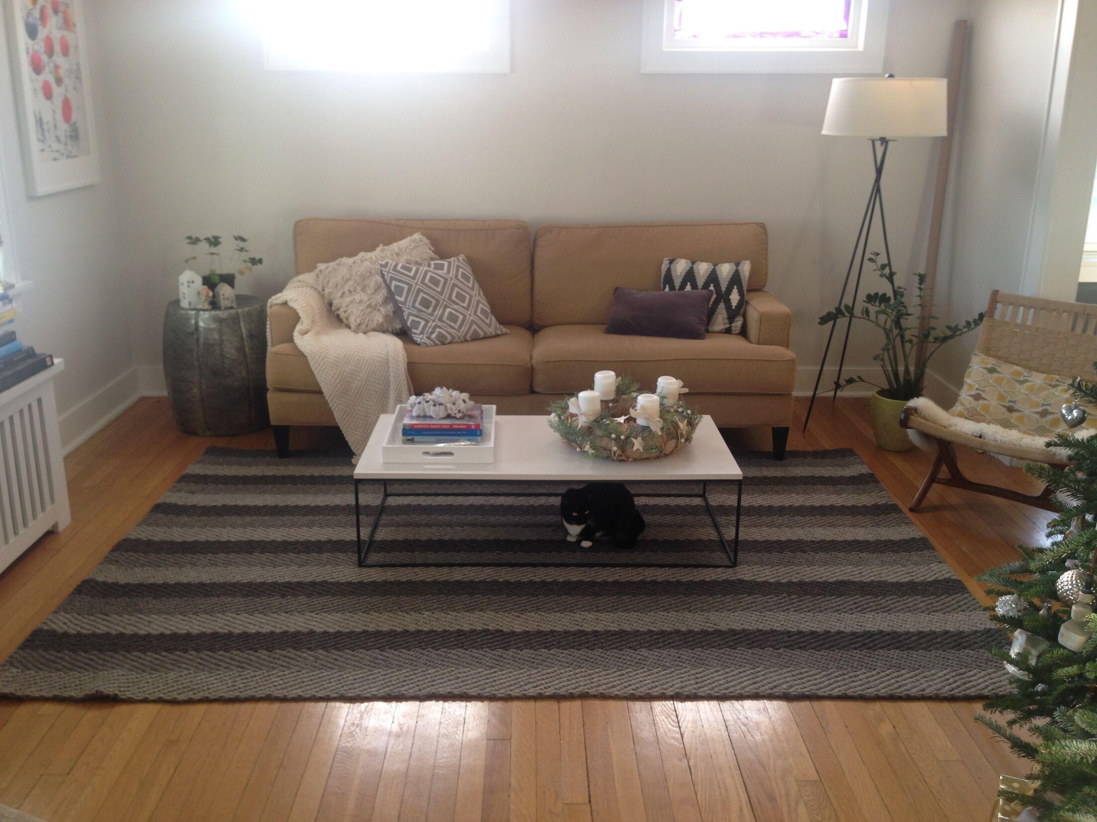 Gordonsville Hand-Woven Brown/Tan Indoor Area Rug Rug Size: 3' x 5'