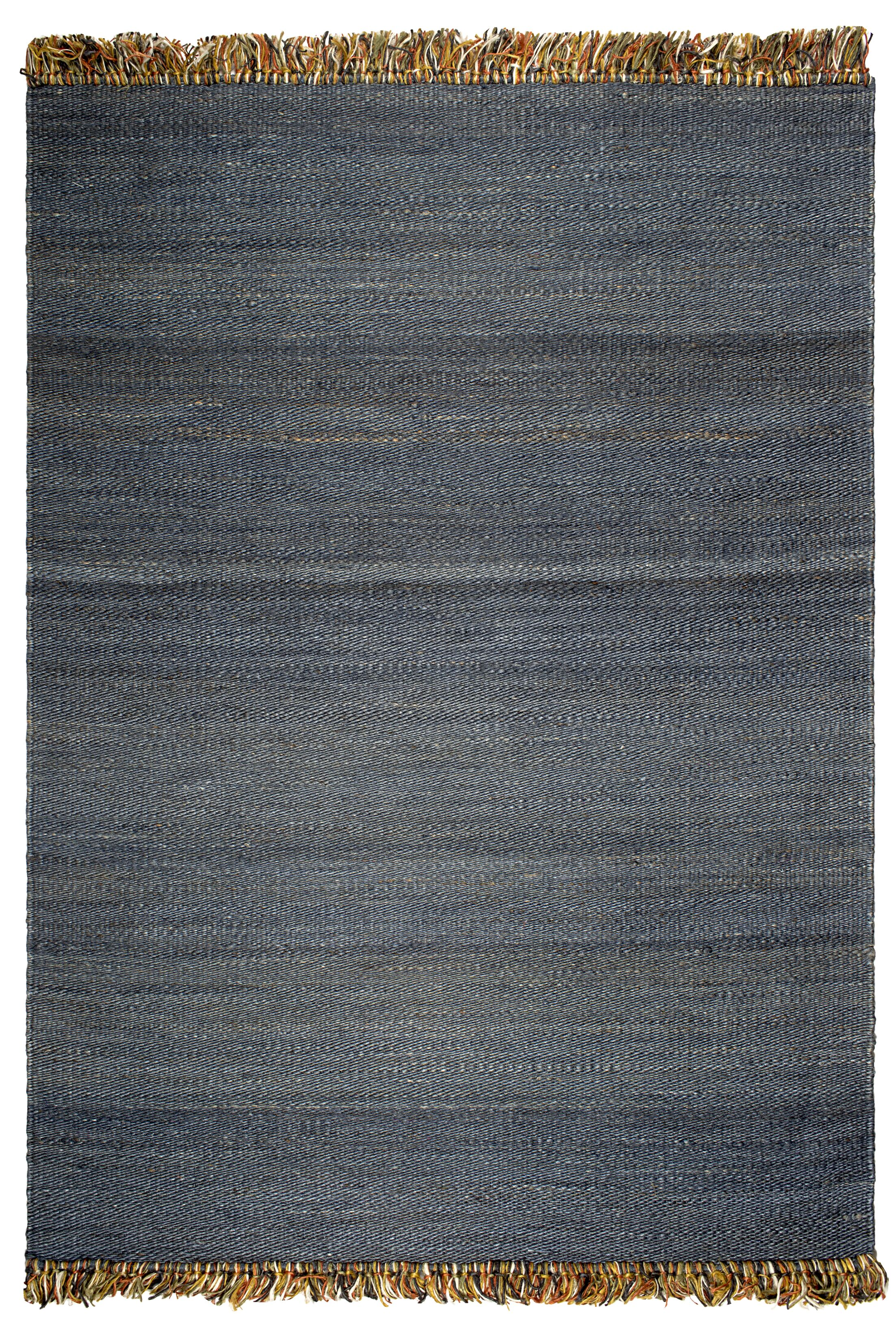 West Side Saguaro Hand-Woven Blue Area Rug Rug Size: 6' x 9'