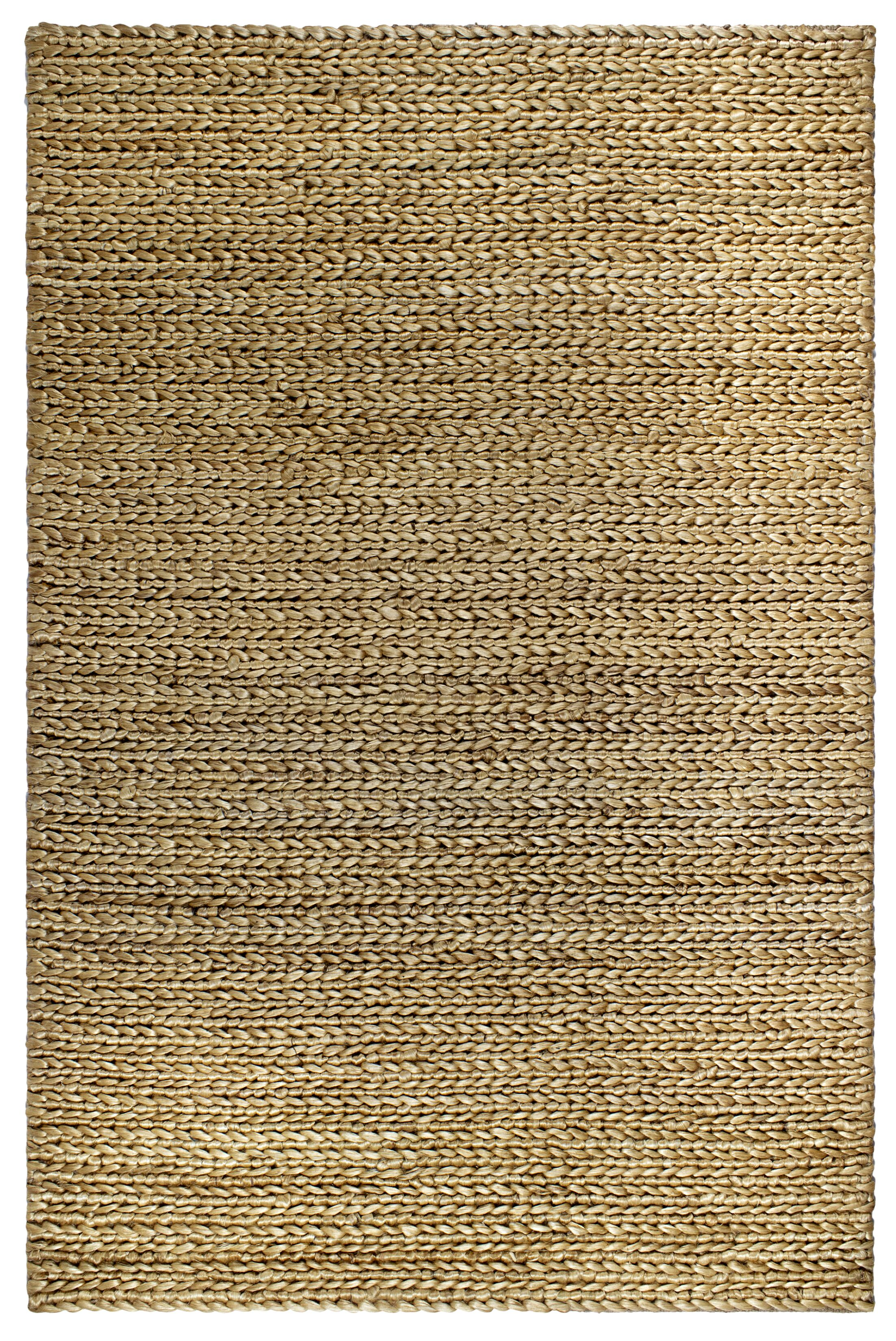 Delmer Carlsbad Hand-Woven Natural Area Rug Rug Size: 3' x 5'