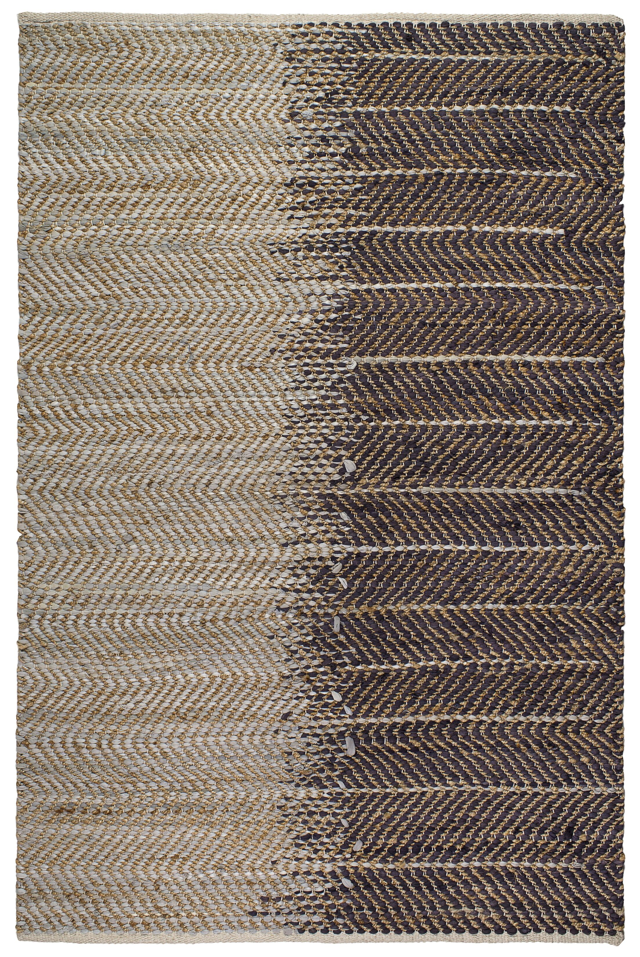 Metro Addison Hand-Woven Natural Area Rug Rug Size: 8' x 10'