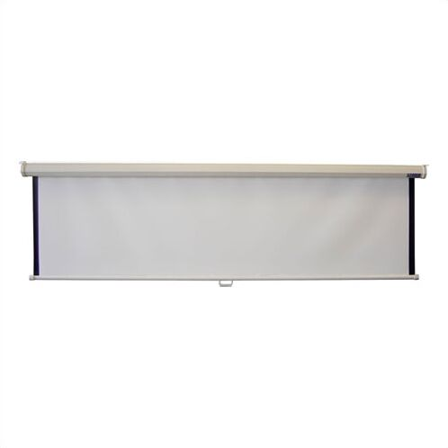 Consort Deluxe Matt White Manual Projection Screen Viewing Area: 120