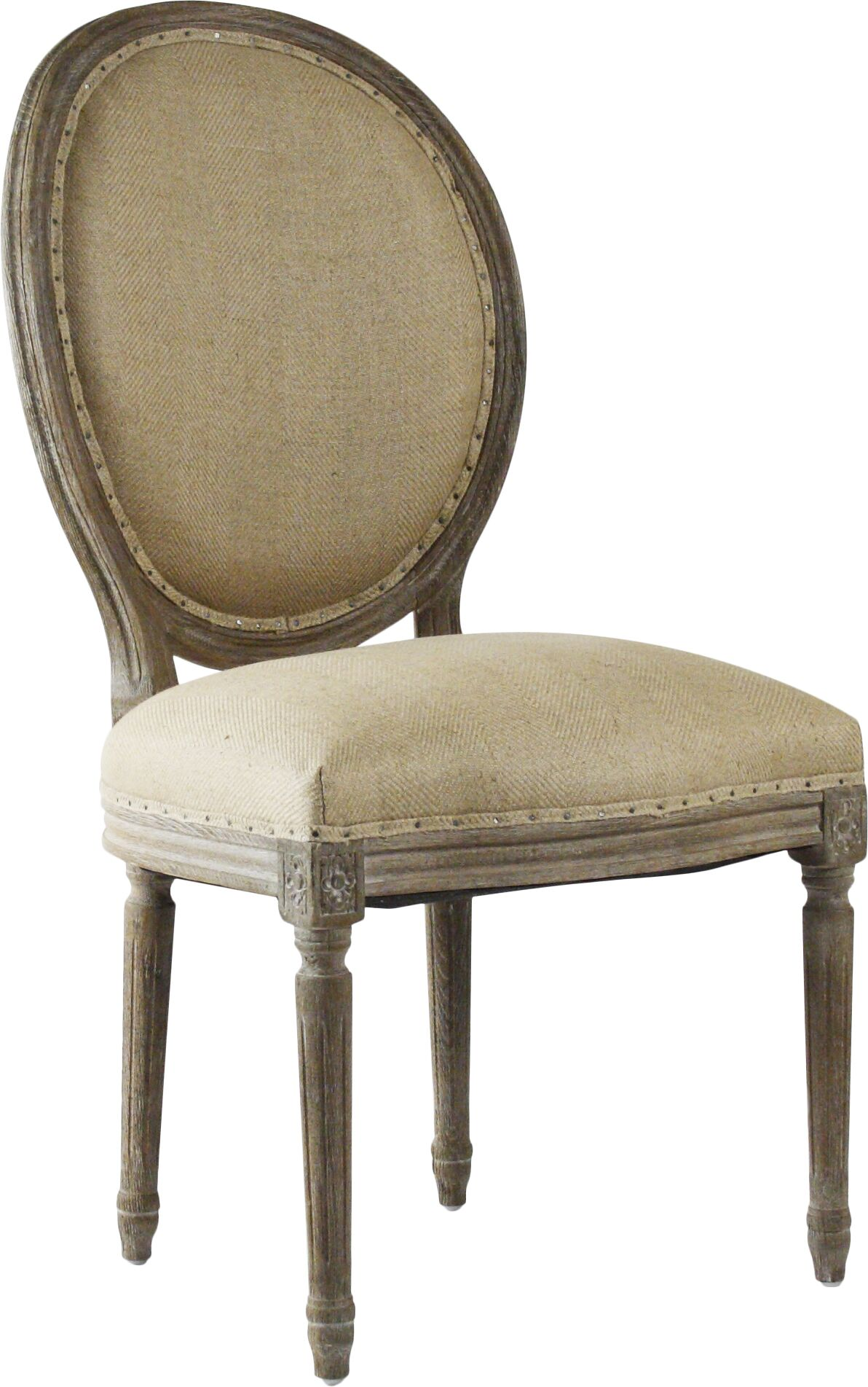 Arvidson Side Chair in Hemp - Natural Finish: Limed Grey Oak