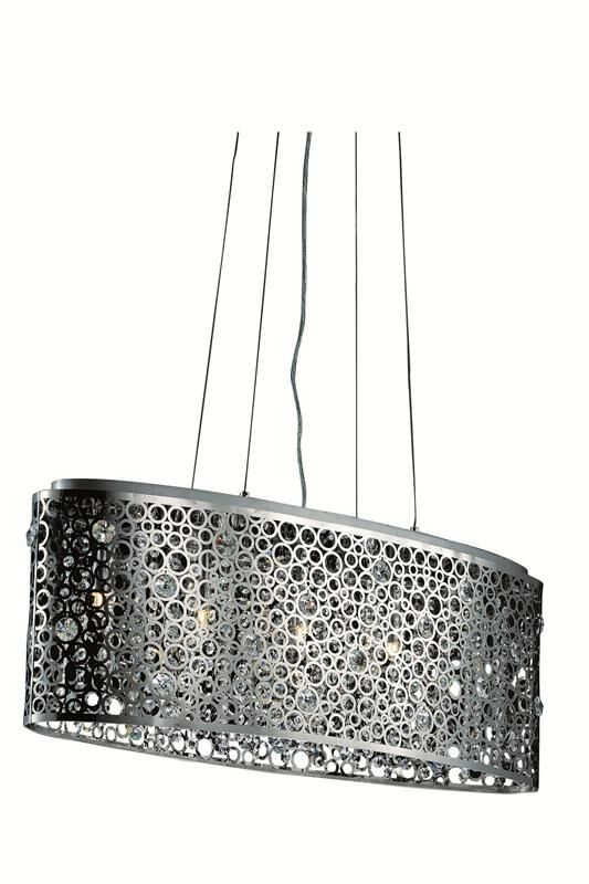 Darcey 5-Light Kitchen Island Pendant
