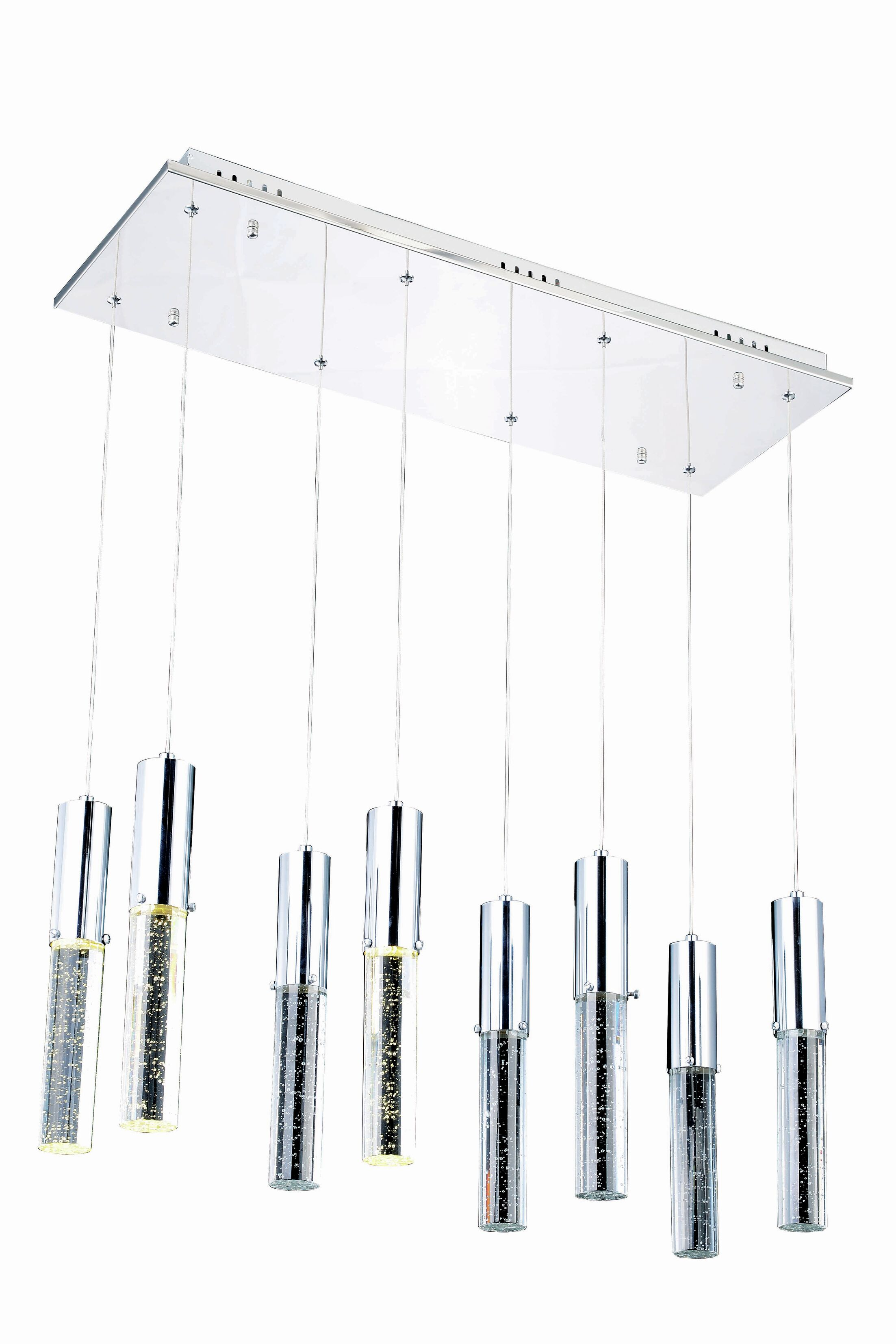Asmus 8-Light Cluster Pendant