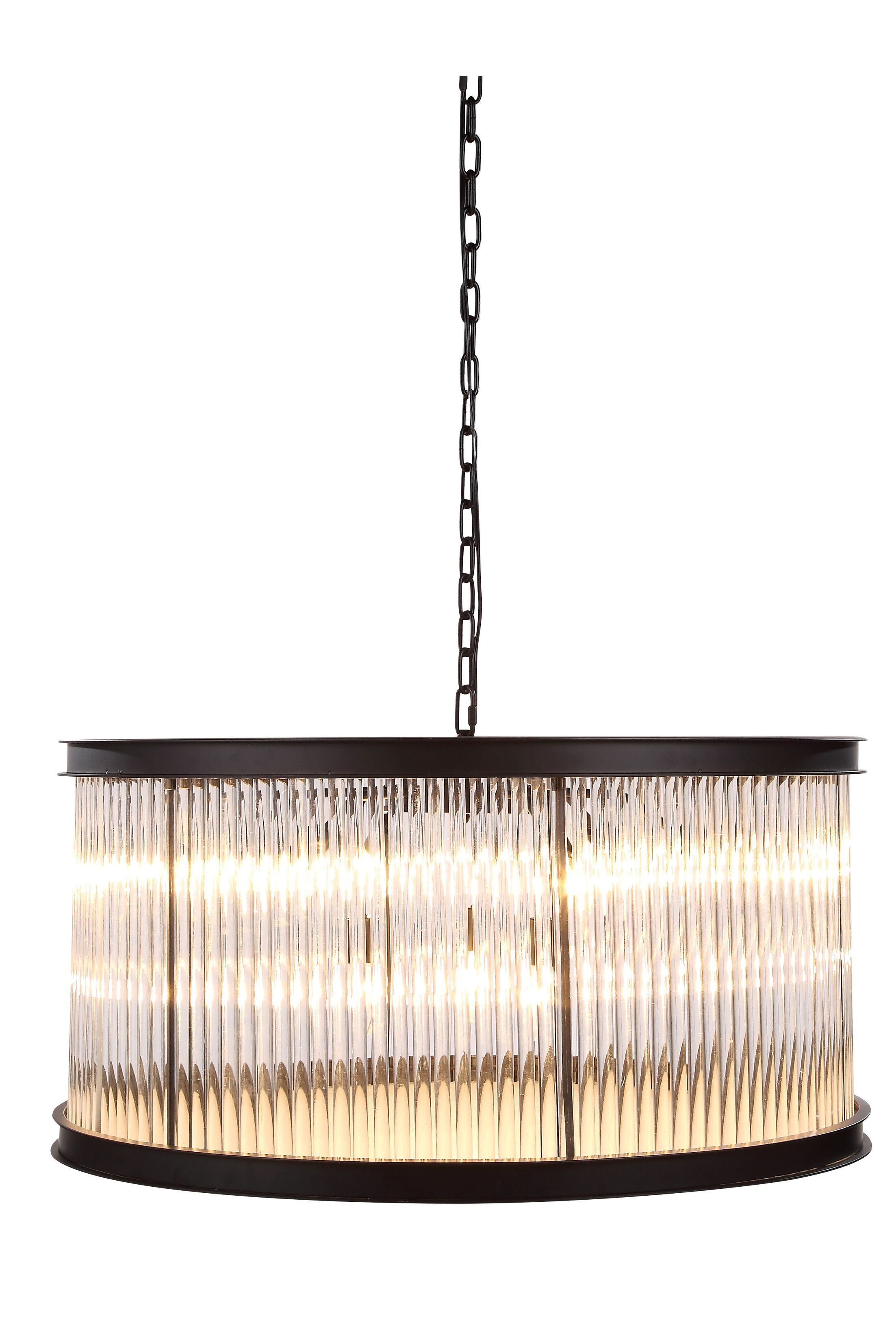 Arnot 9-Light Pendant Size: 16