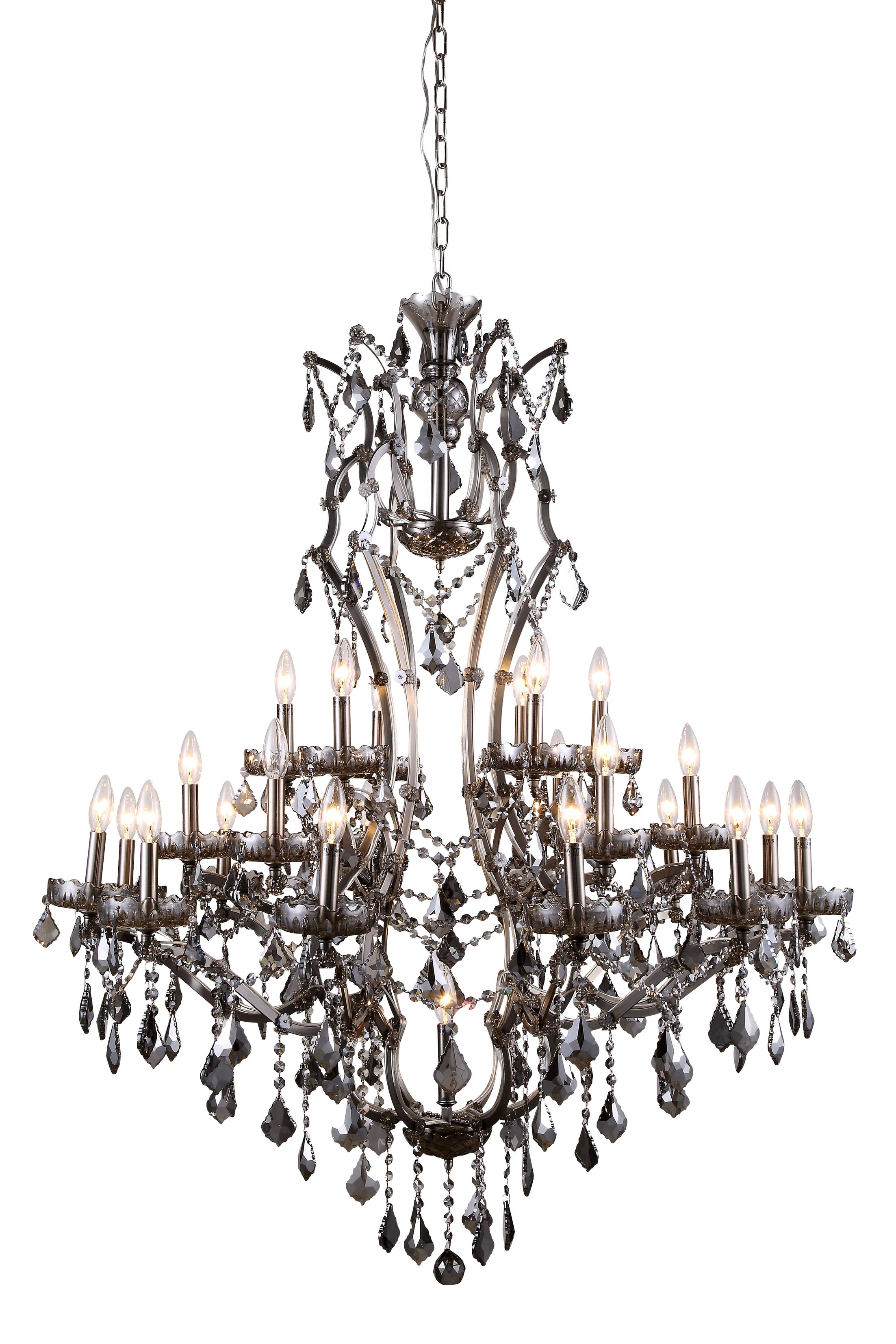 Cora 25-Light Candle Style Chandelier