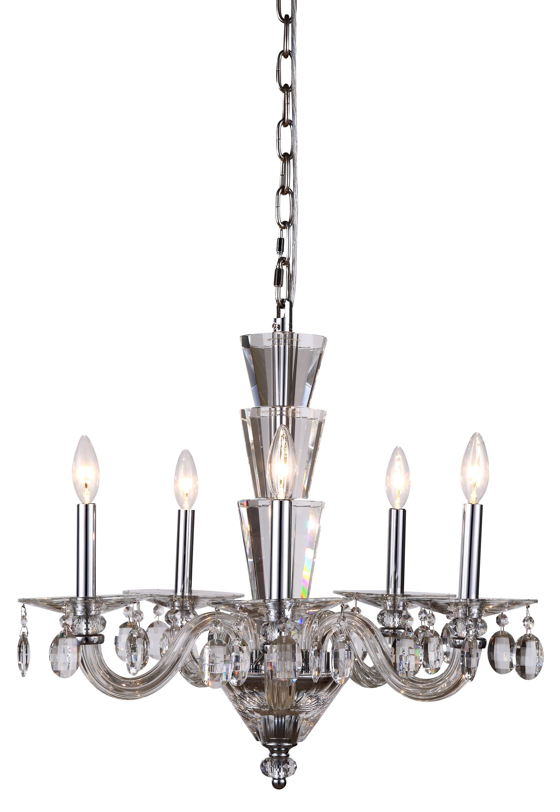 Felisa 5-Light Chandelier