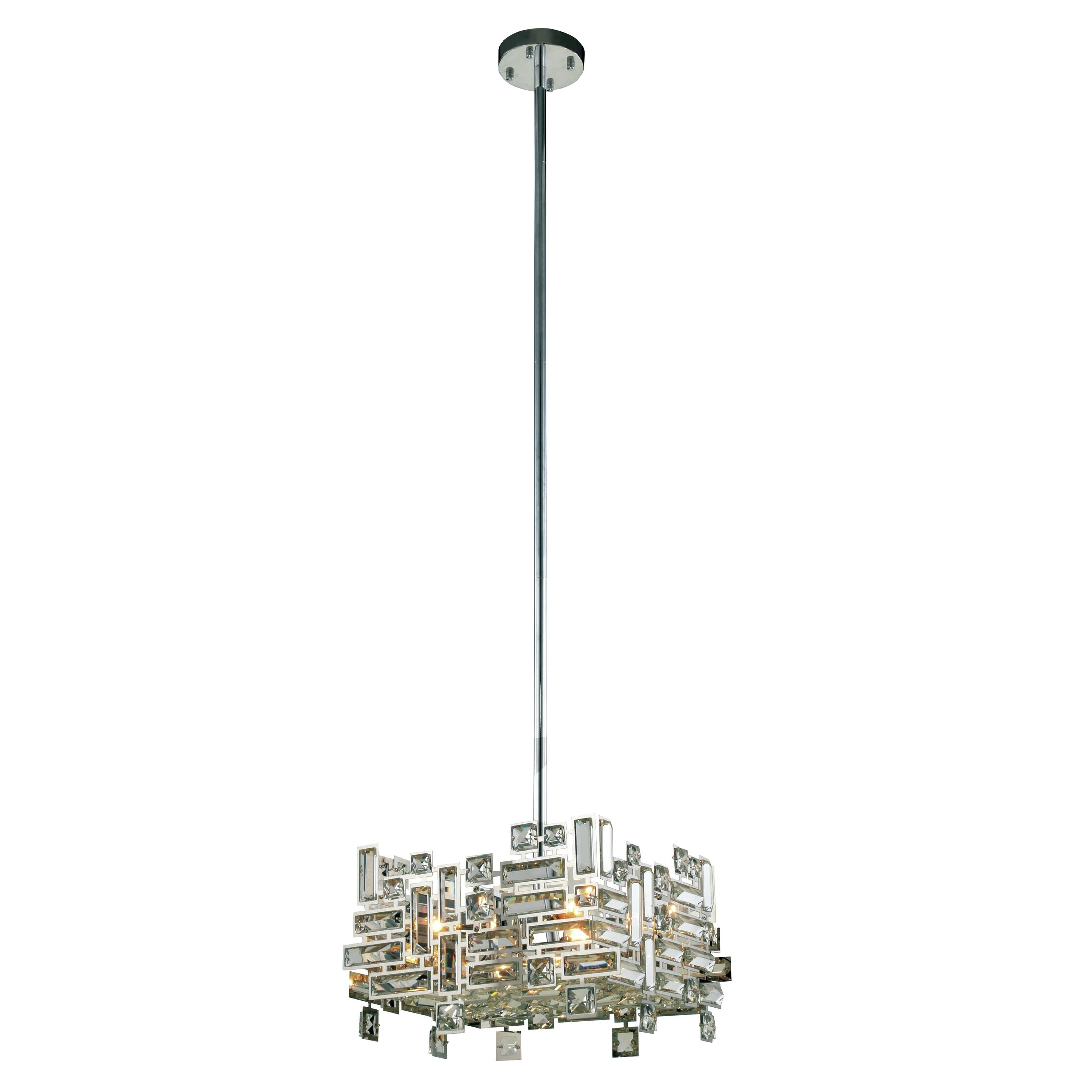 Nancee 4-Light Crystal Chandelier