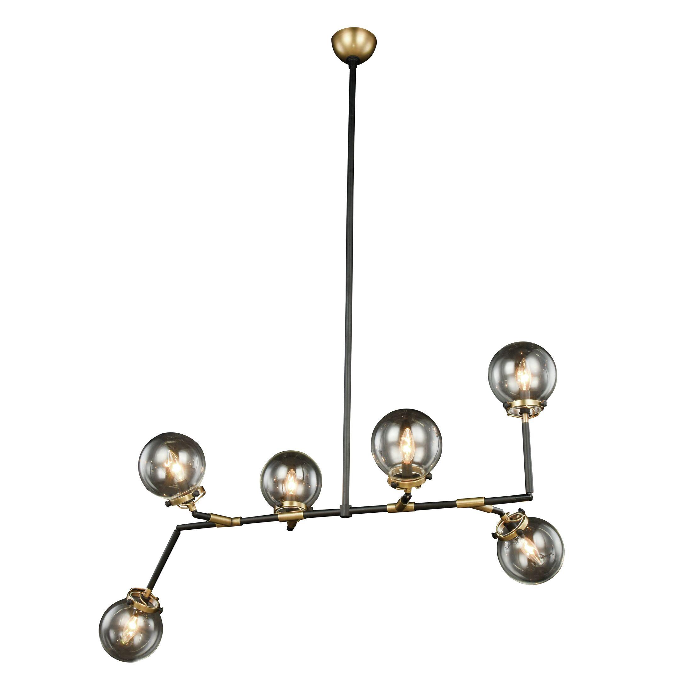 Roman 6-Light Sputnik Chandelier